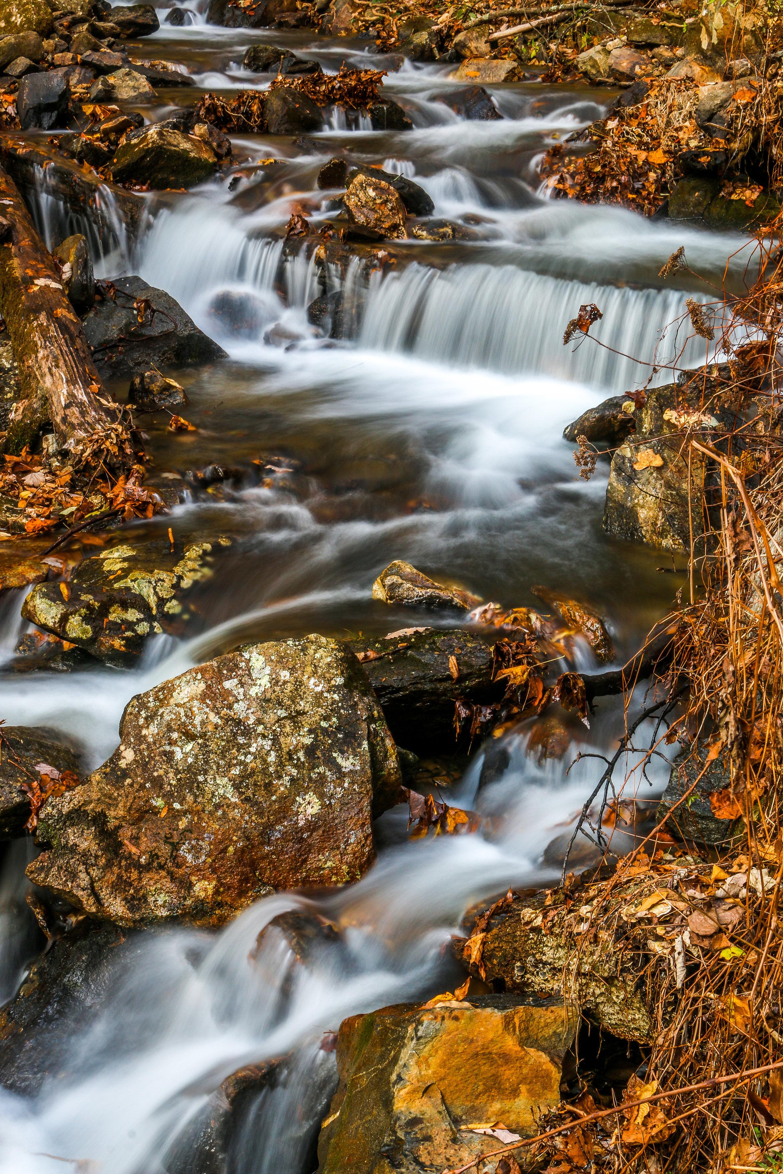 Below Amicalola Falls