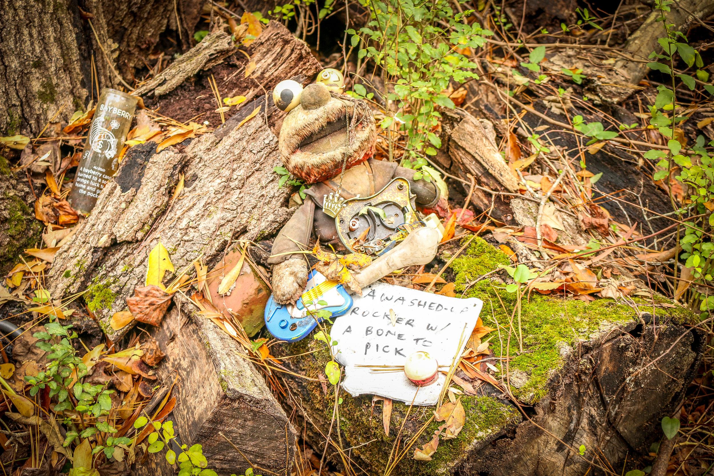 creepy doll's head trail atlanta georgia ga constitution lakes