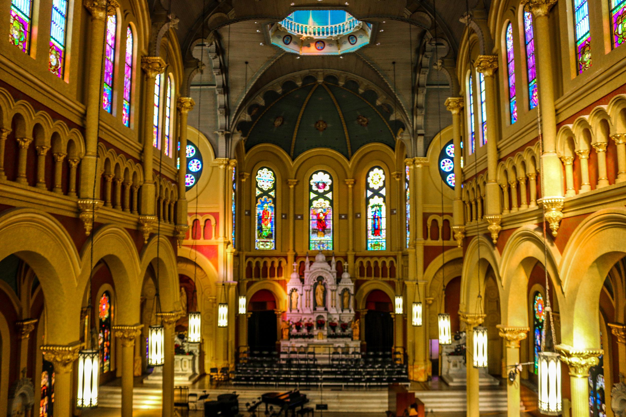 Inside Sacred Heart