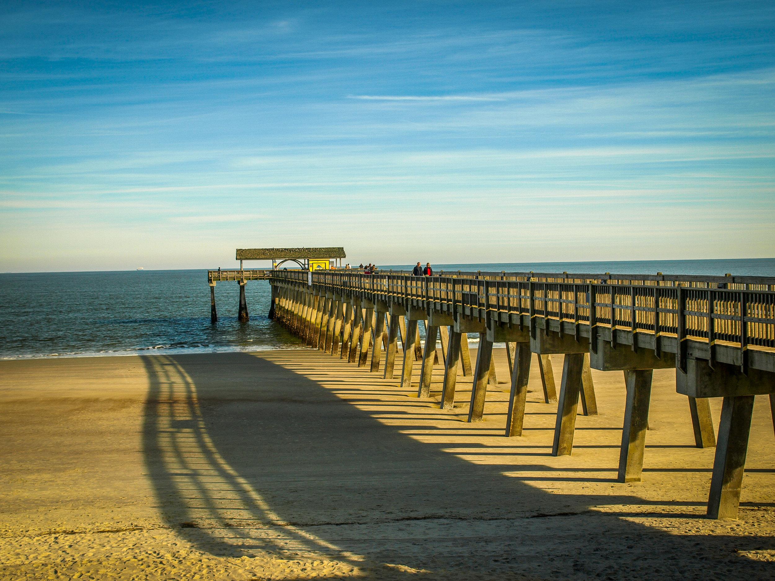 Tybee Island Beach Savannah Georgia GA