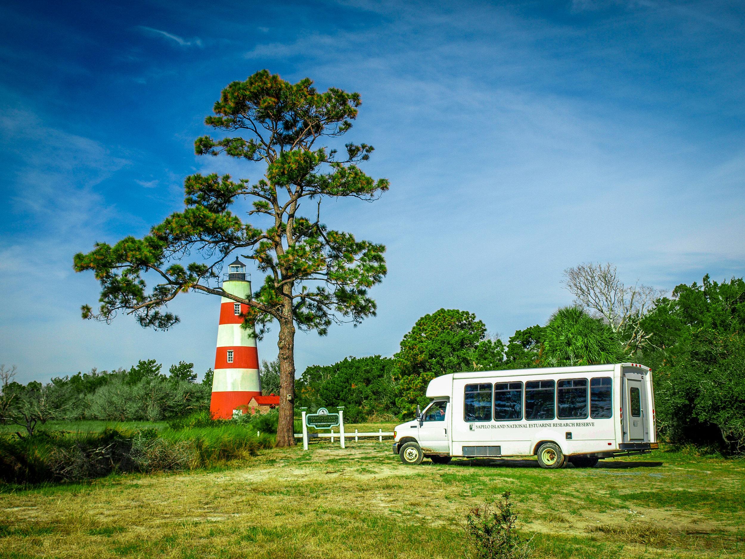 On Tour on Sapelo Island