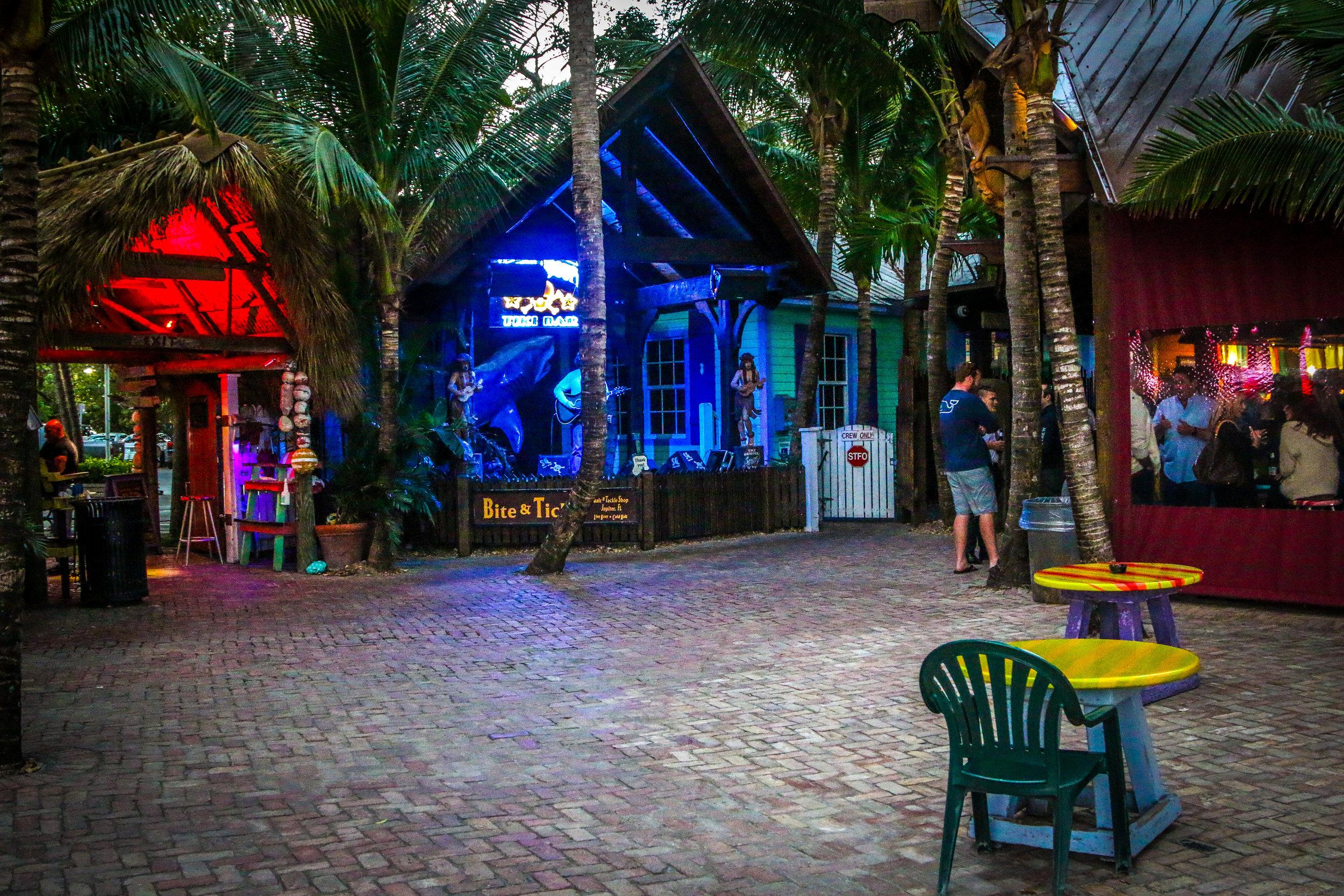 Square Grouper Tiki Bar