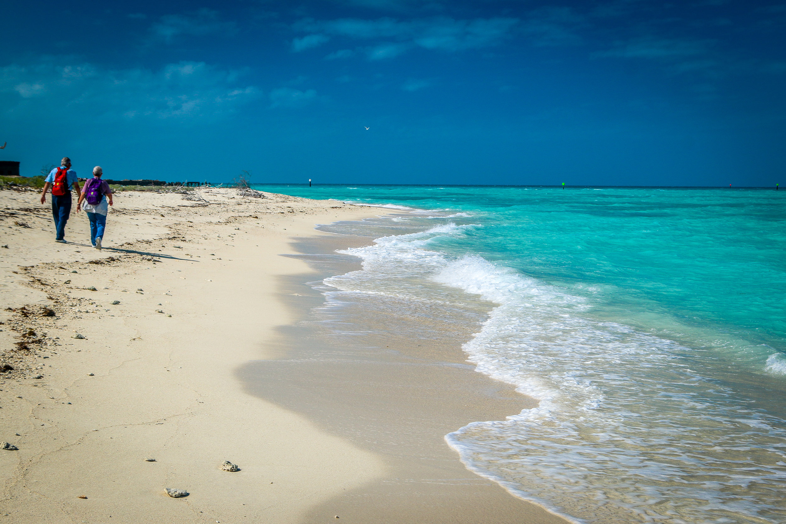 Beautiful Beaches of Dry Tortugas National Park