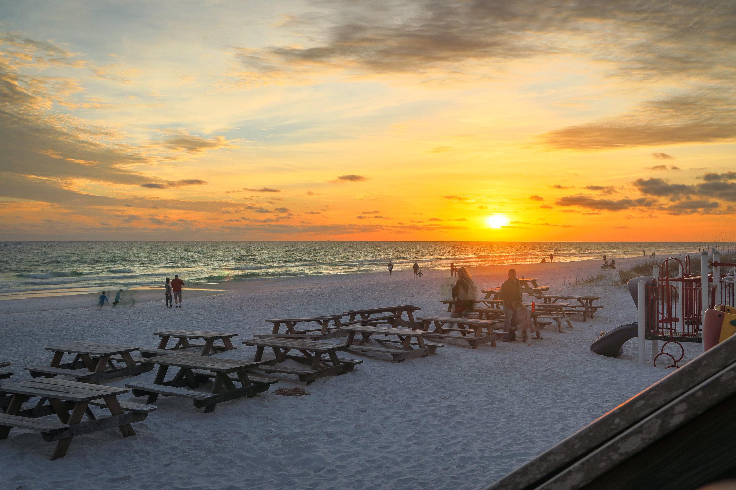 A beautiful Destin Sunset