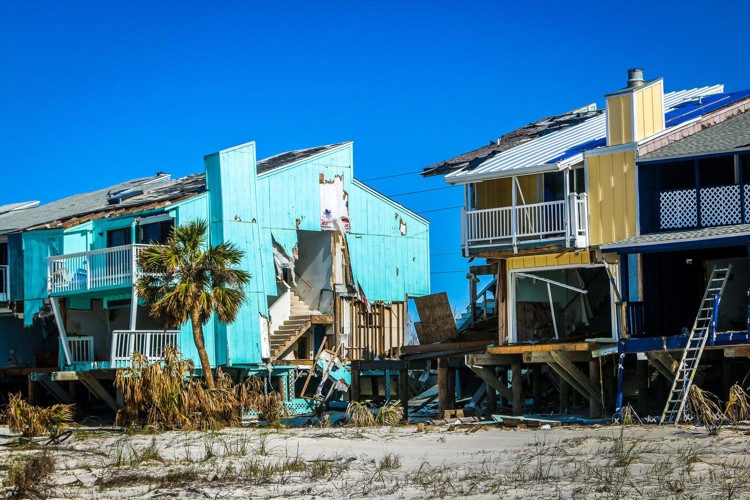 Forgotten Coast hurricane damage