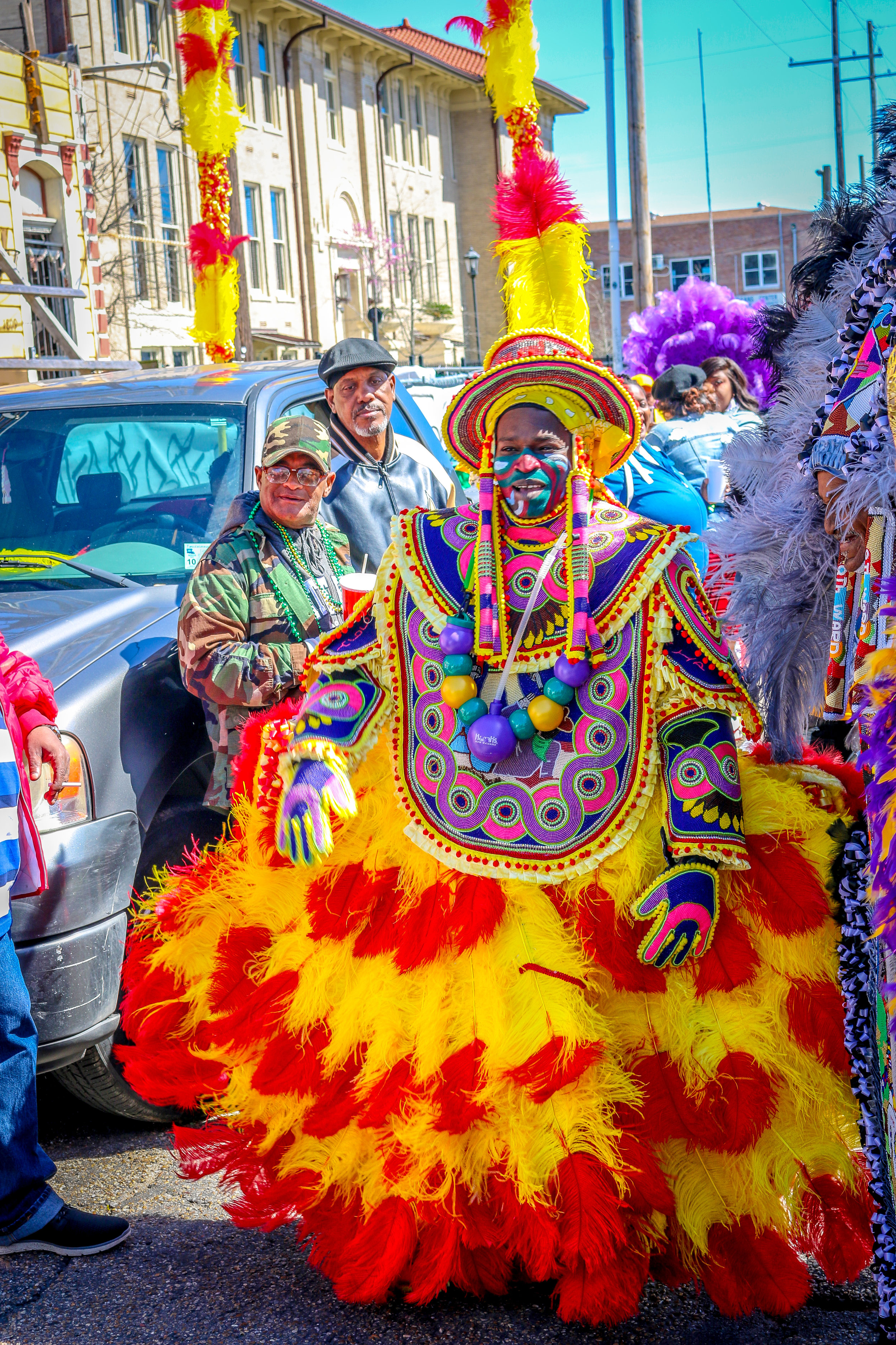 Mardi Gras Indians New Orleans Louisiana LA