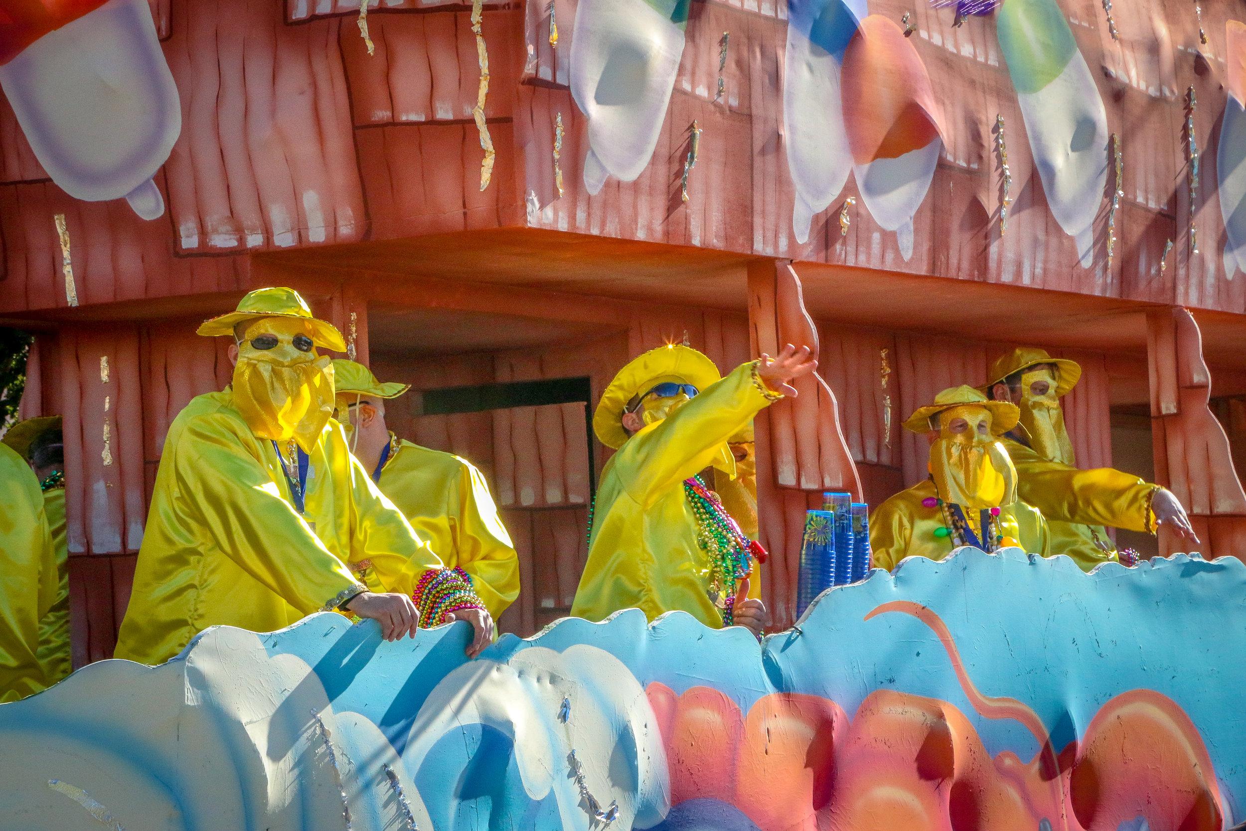Mardi Gras Parades 2019 Louisiana LA