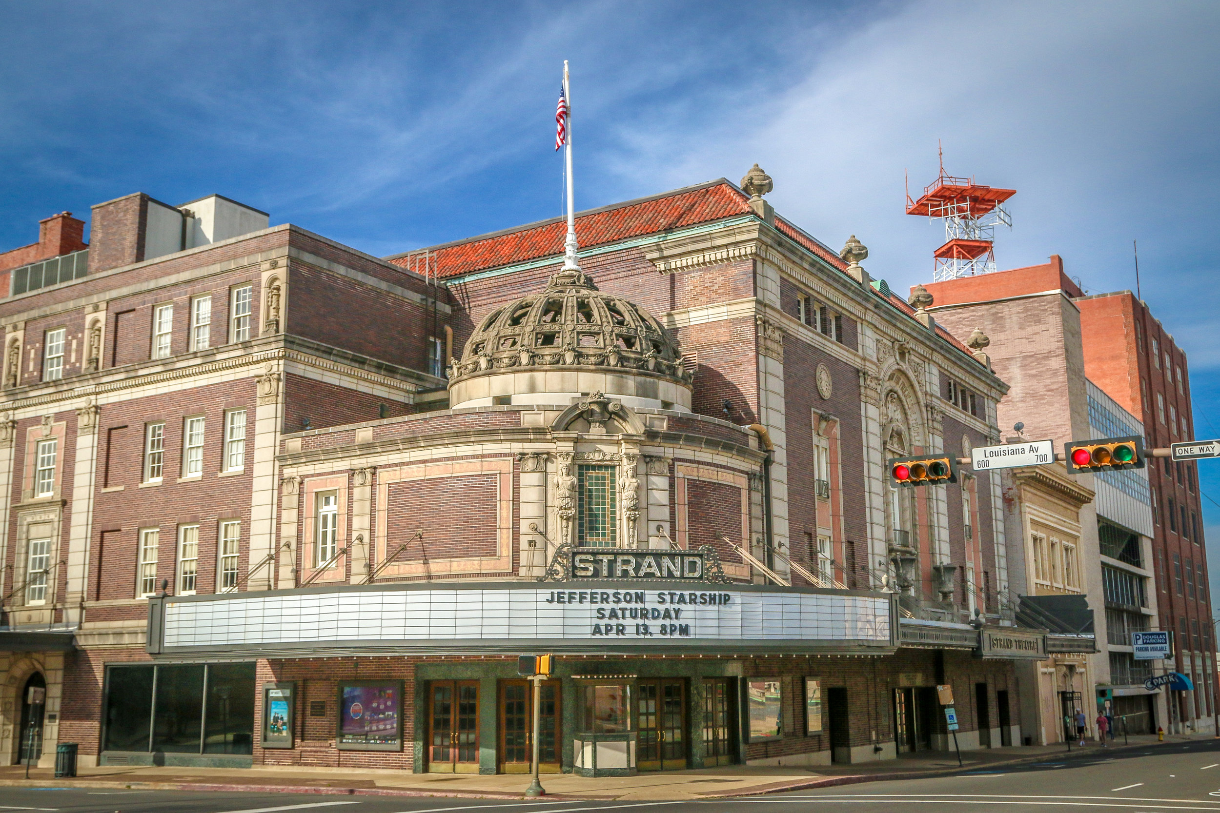 Strand Theater in Downtown Shreveport