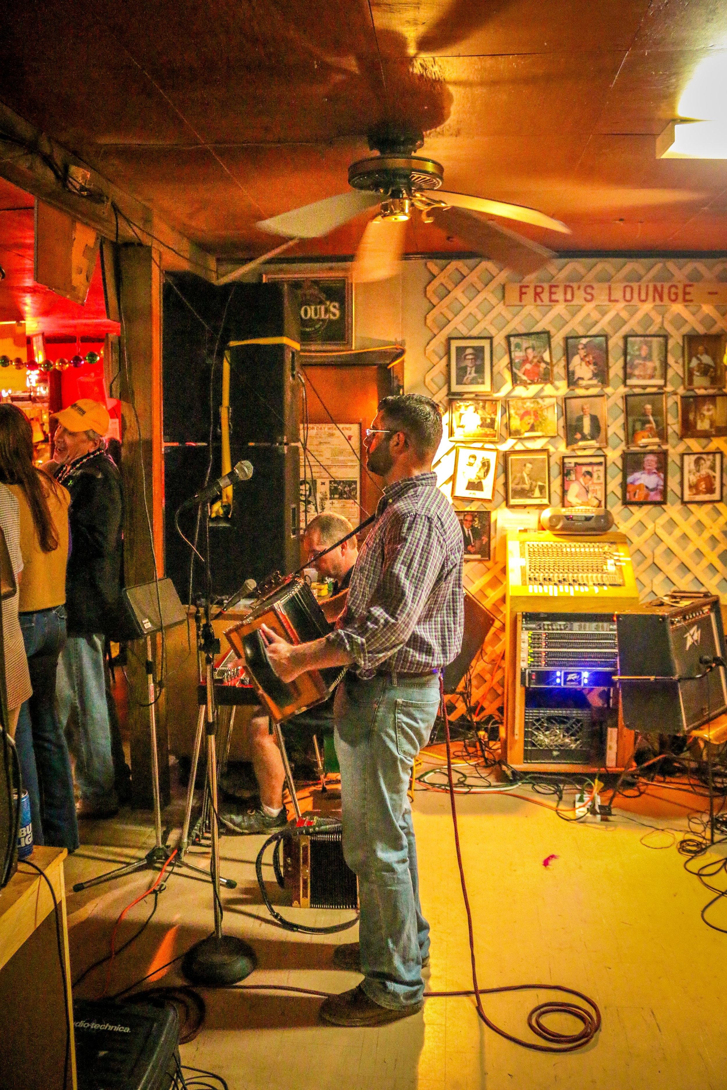 Fred's Lounge Mamou Louisiana LA Cajun Music