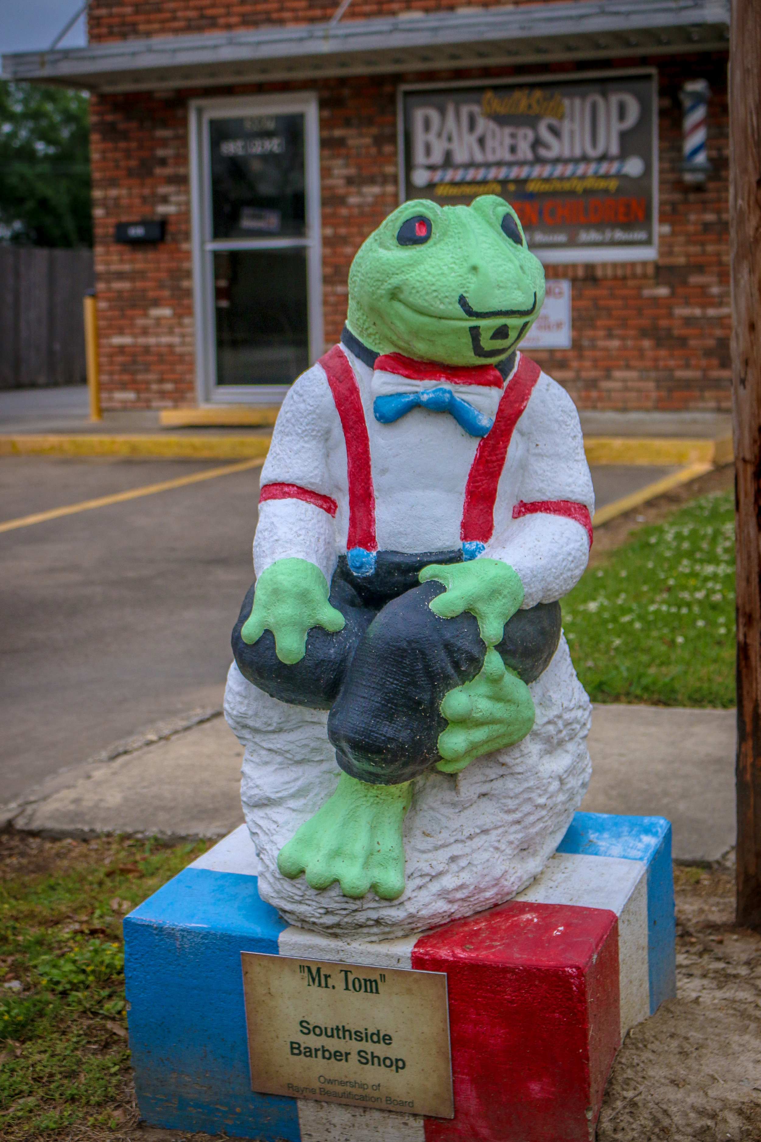 Rayne Louisiana Frog Capital of the World