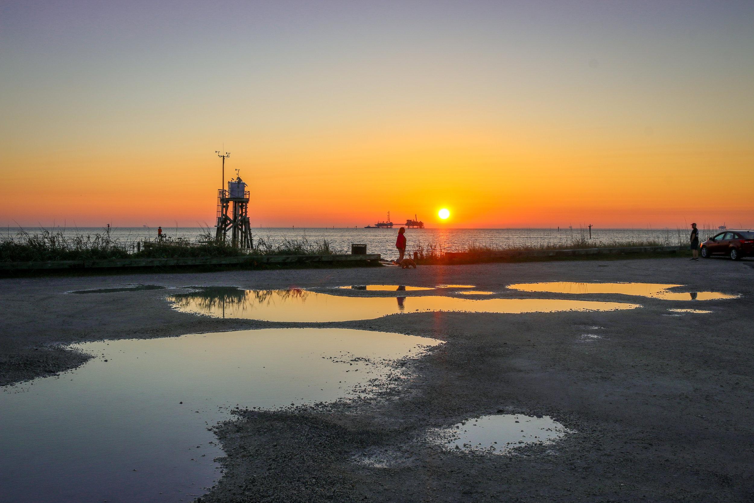 Sunrise From Dauphin Island