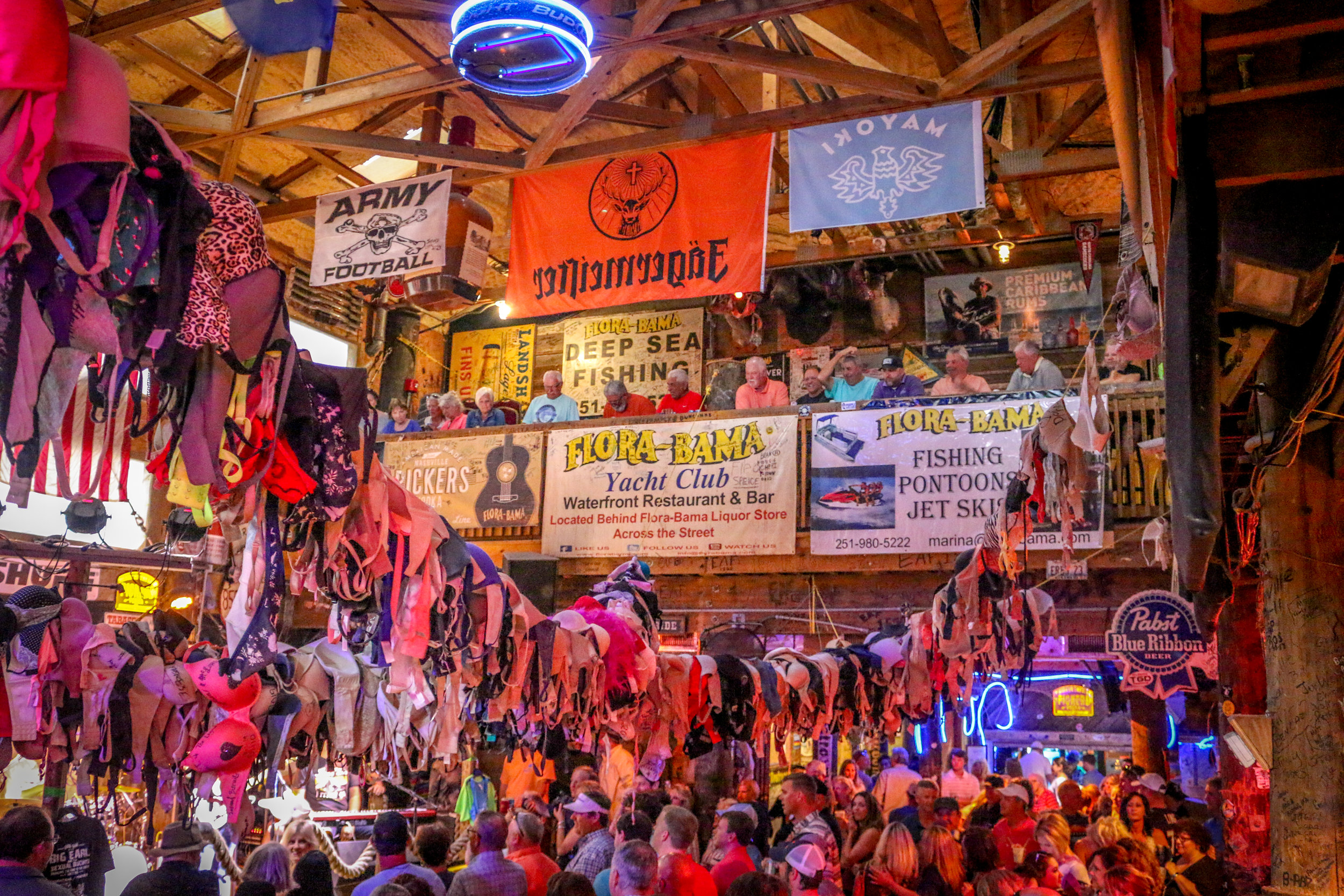 Under the Bras at Flora-Bama