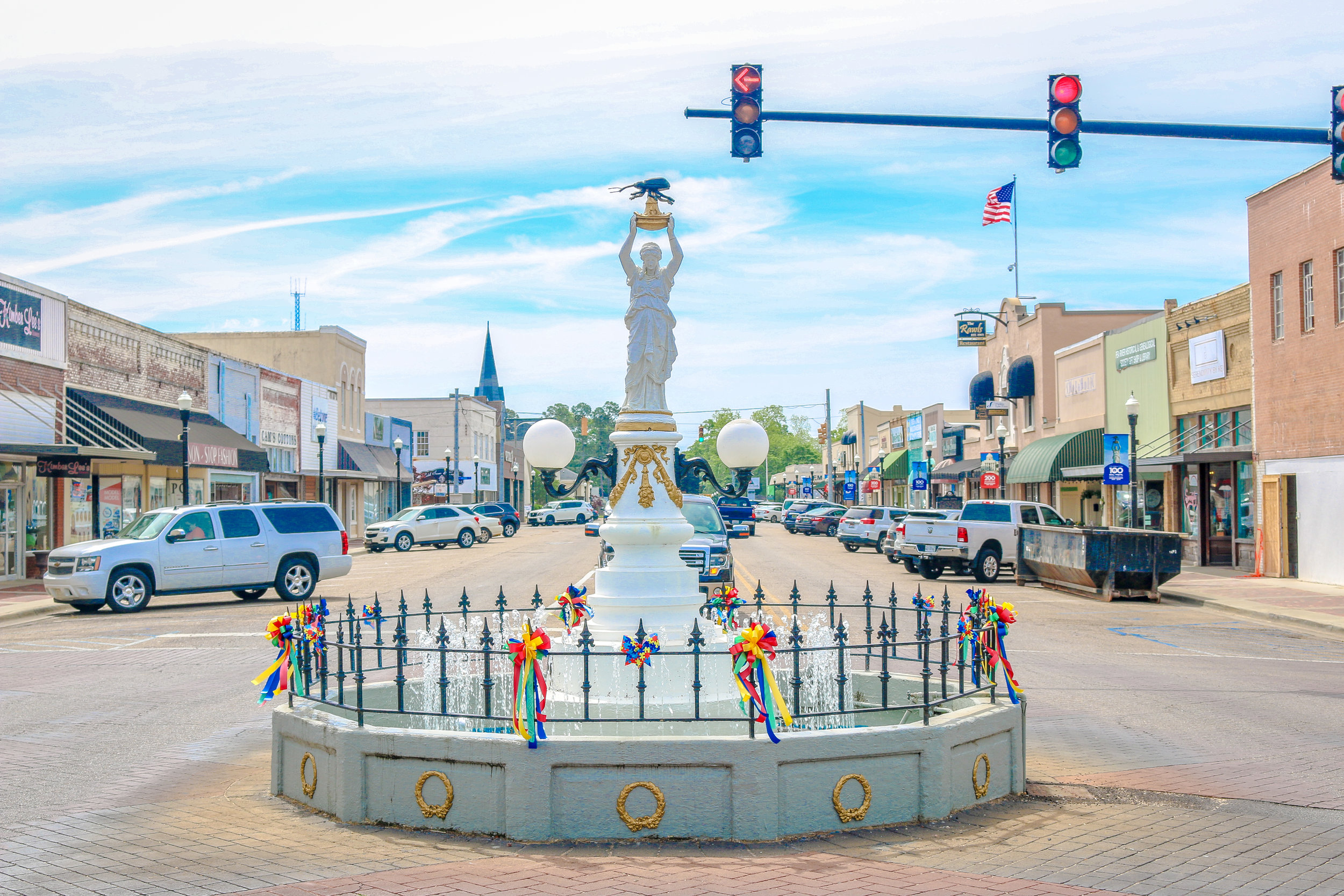 Boll Weevil Monument in Enterprise