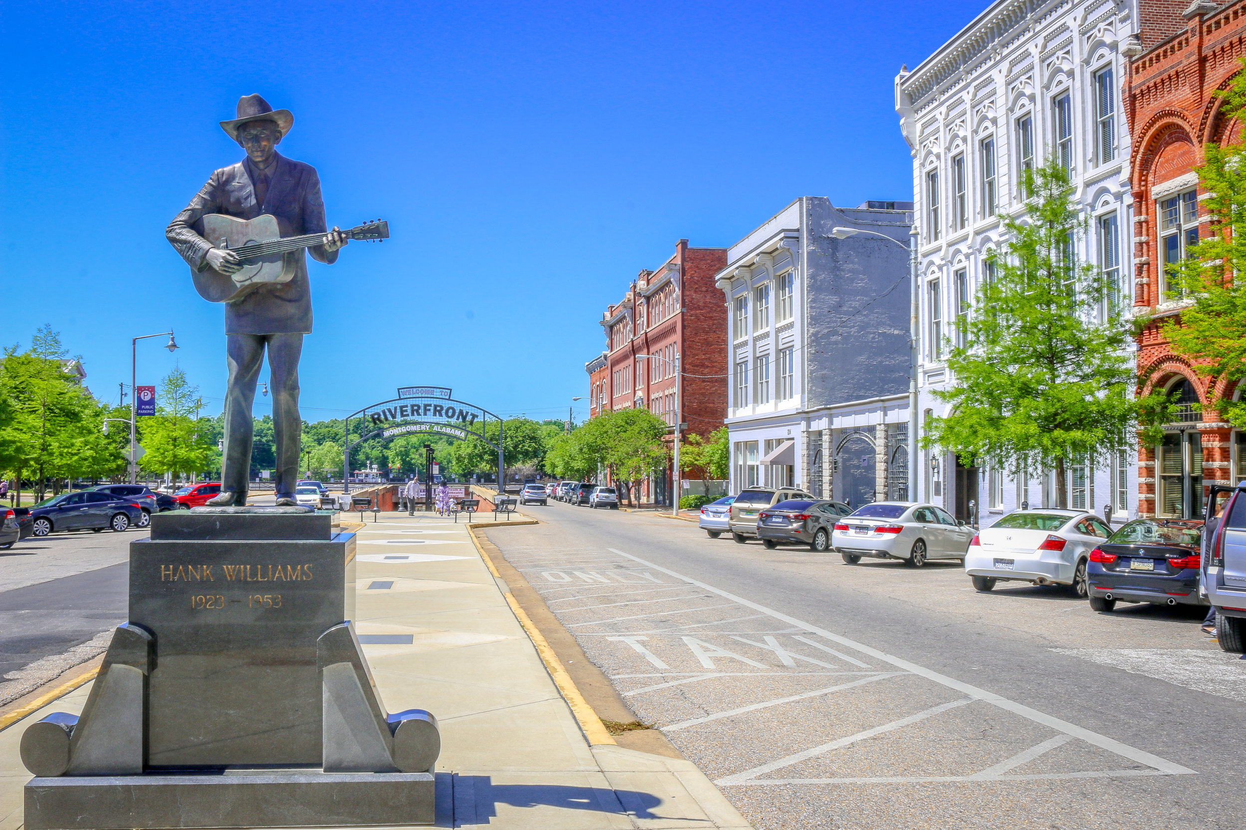 Hank Williams in Montgomery