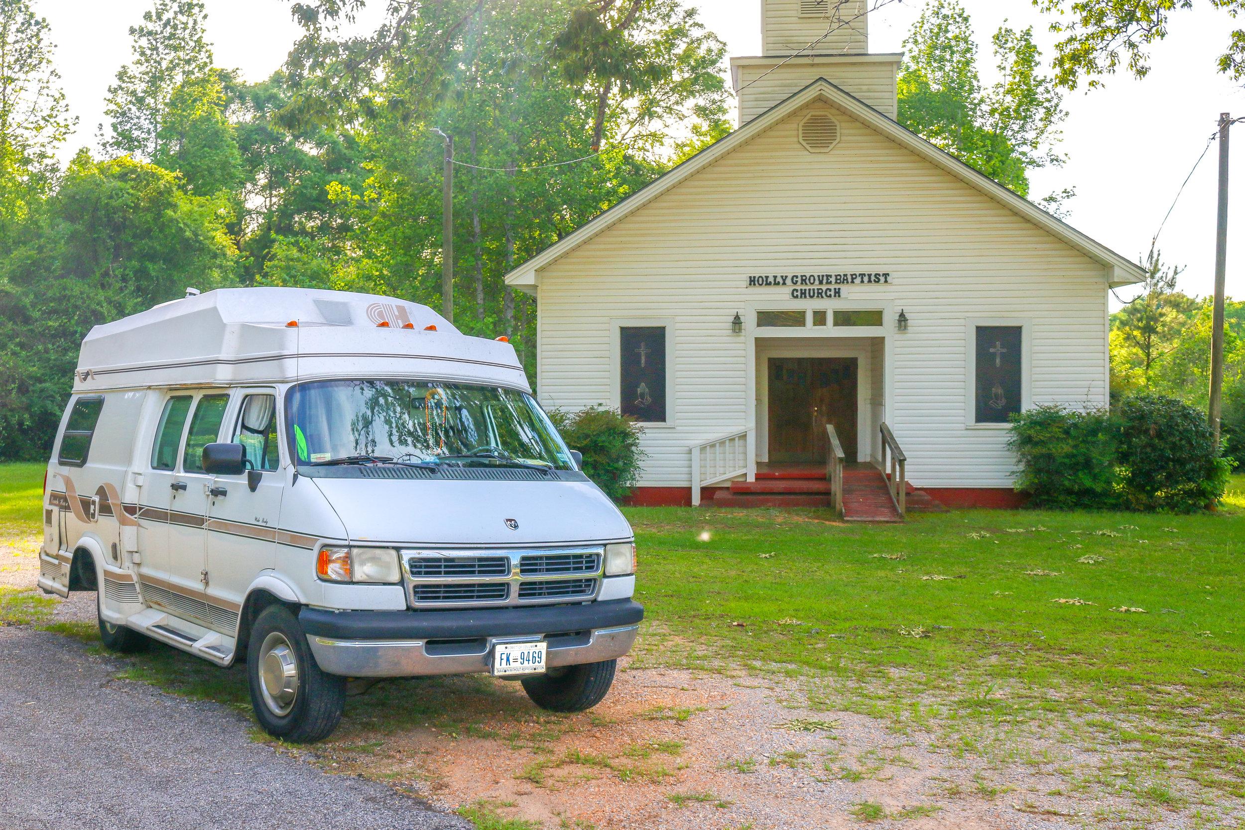 This Van is Keeping Me Rolling in Alabama