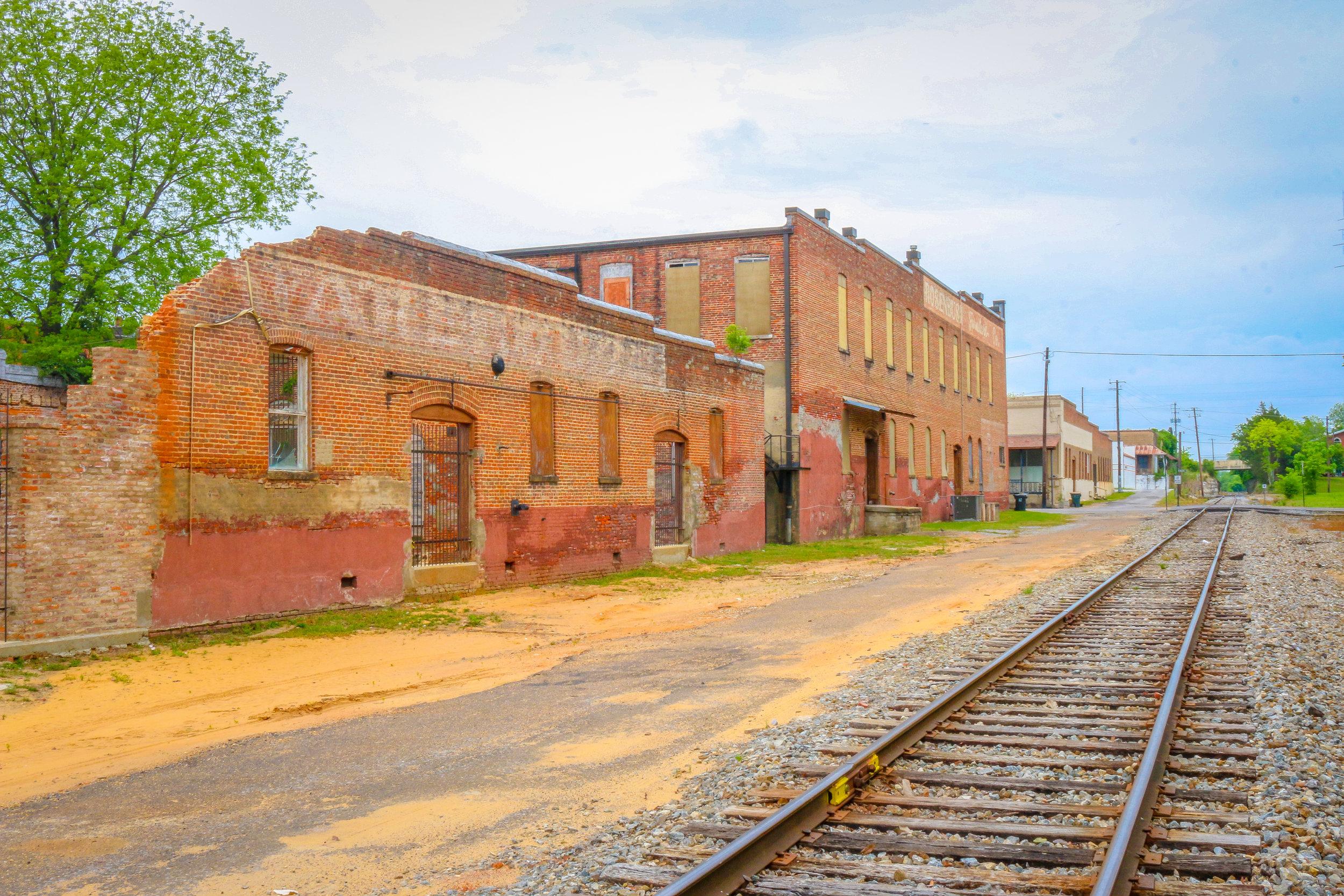 Demopolis Train Tracks