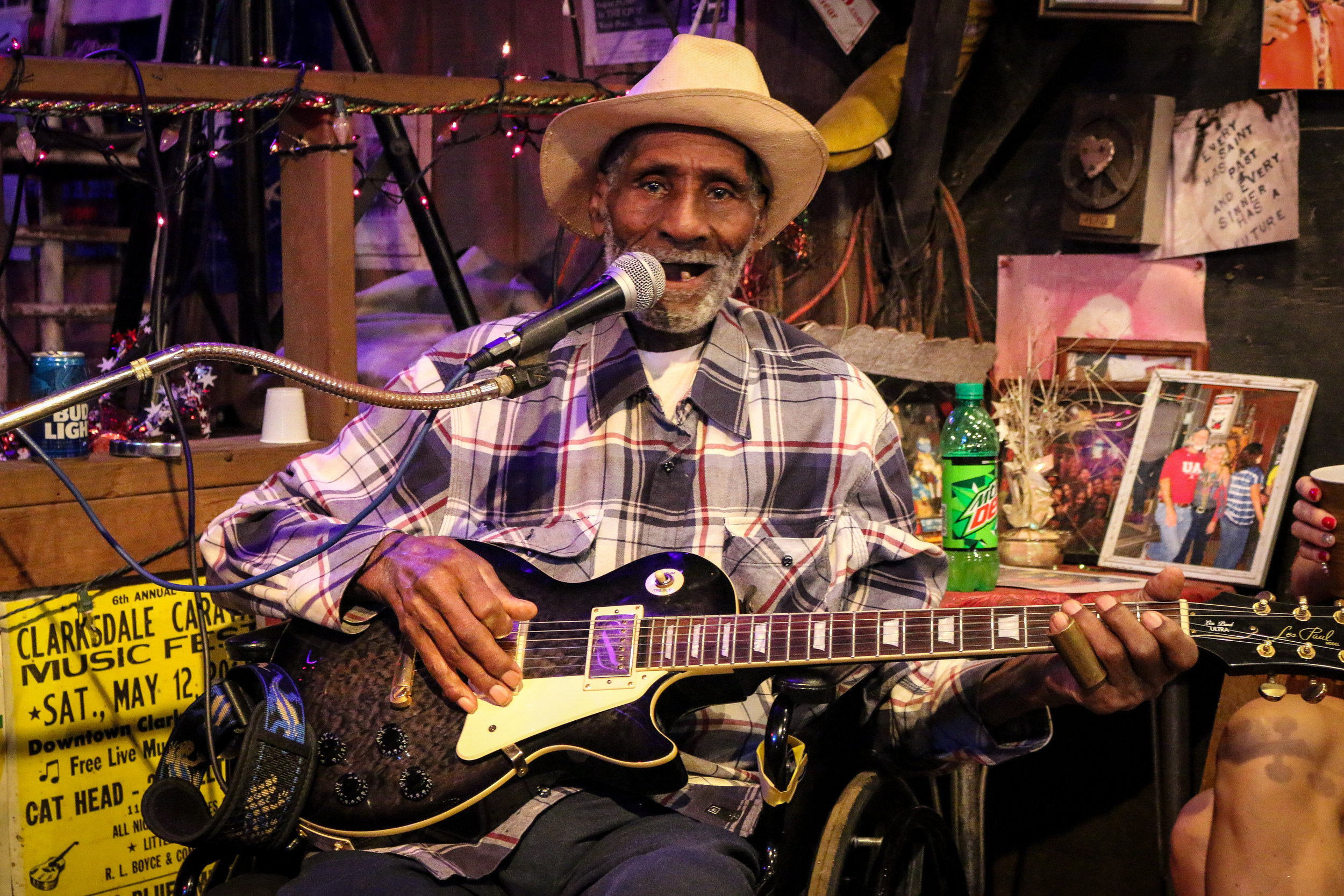Mr. Gip Himself - 98 and Still Playing the Blues