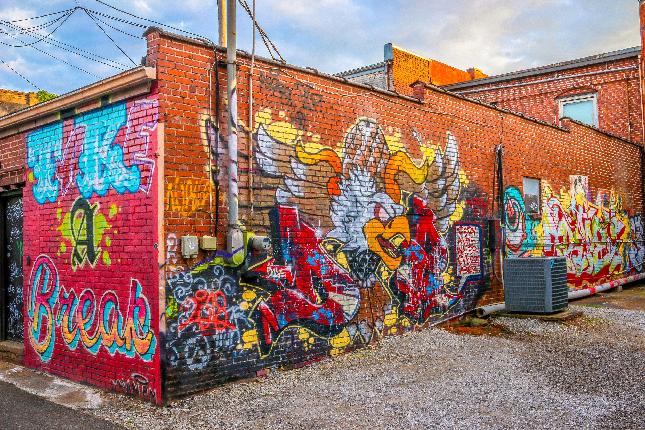 Florence Alabama Shoals AL photos photography street art