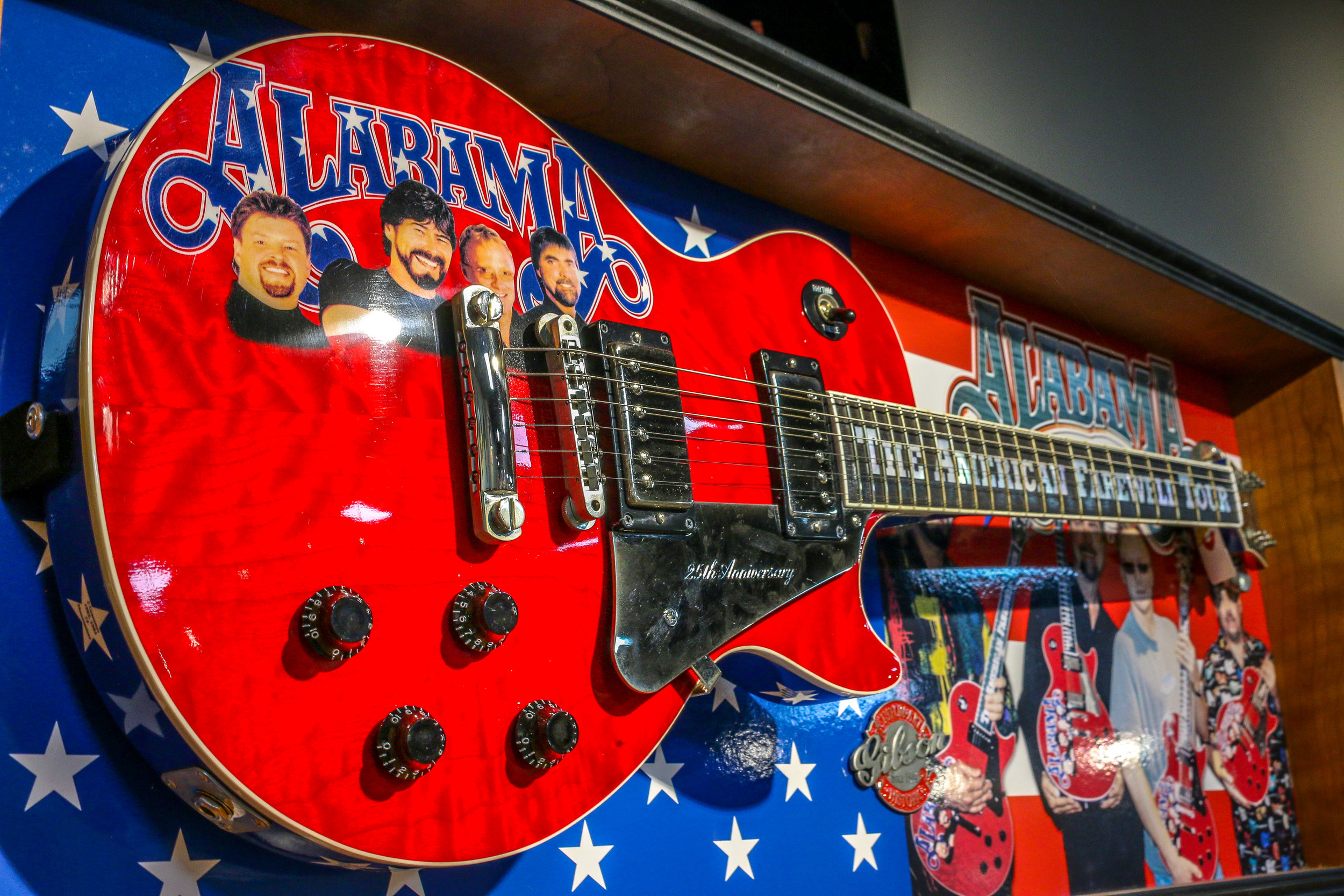 Alabama' s Farewell Tour Guitar