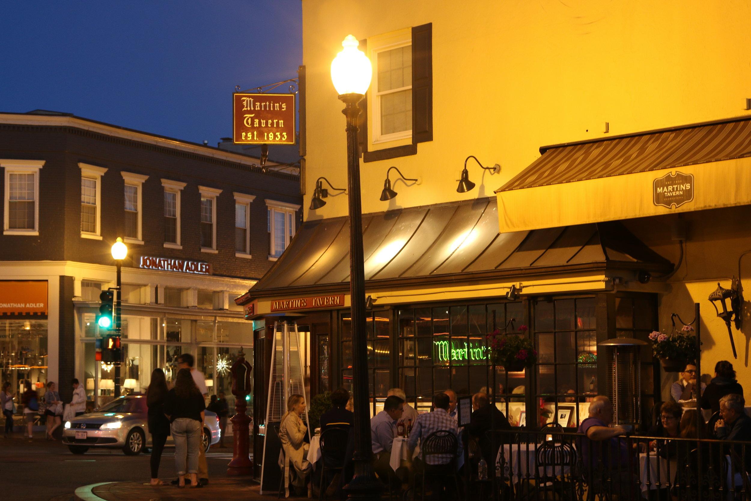 Martin's Tavern in D.C.