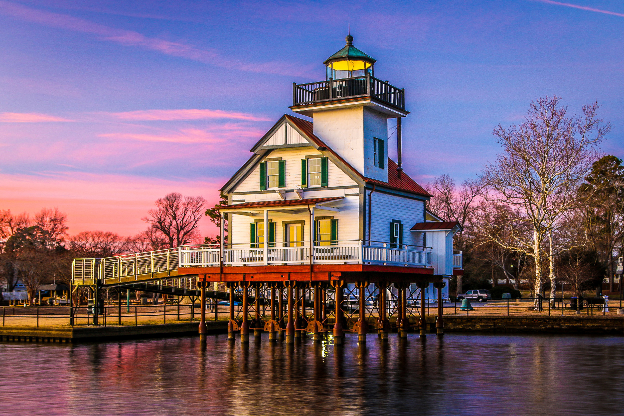 Beautiful North Carolina Lighthouse