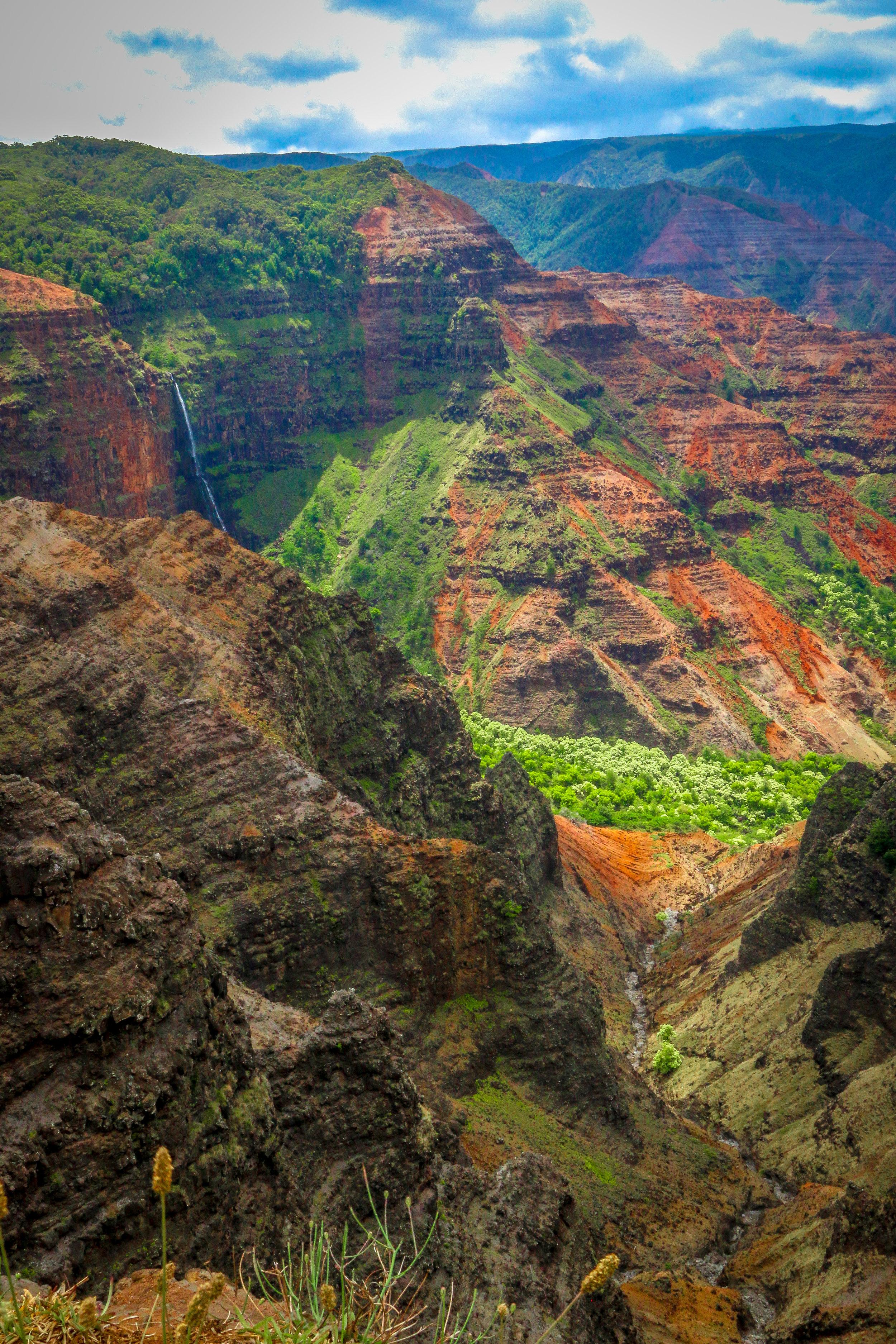 Waimea Canyon State Park Kauai Hawaii HI photos photography