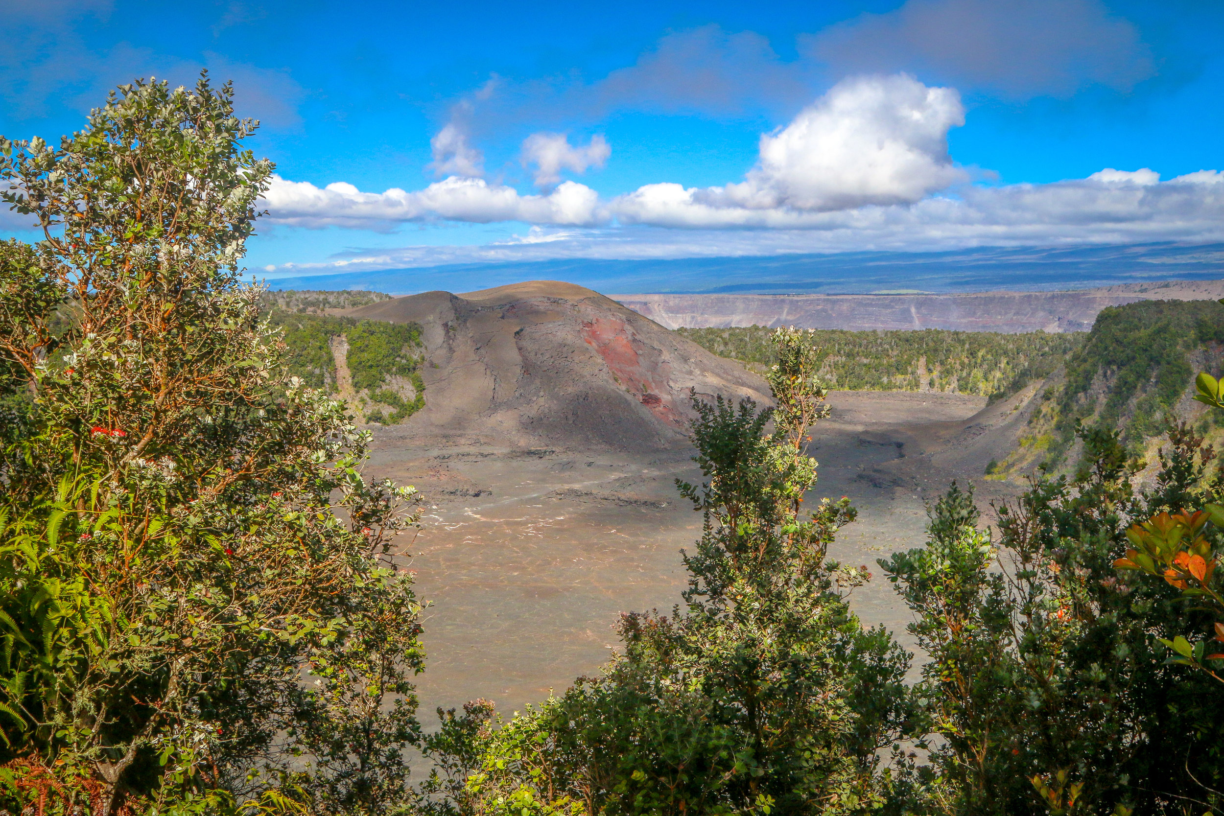 Kilauea Crater From Above