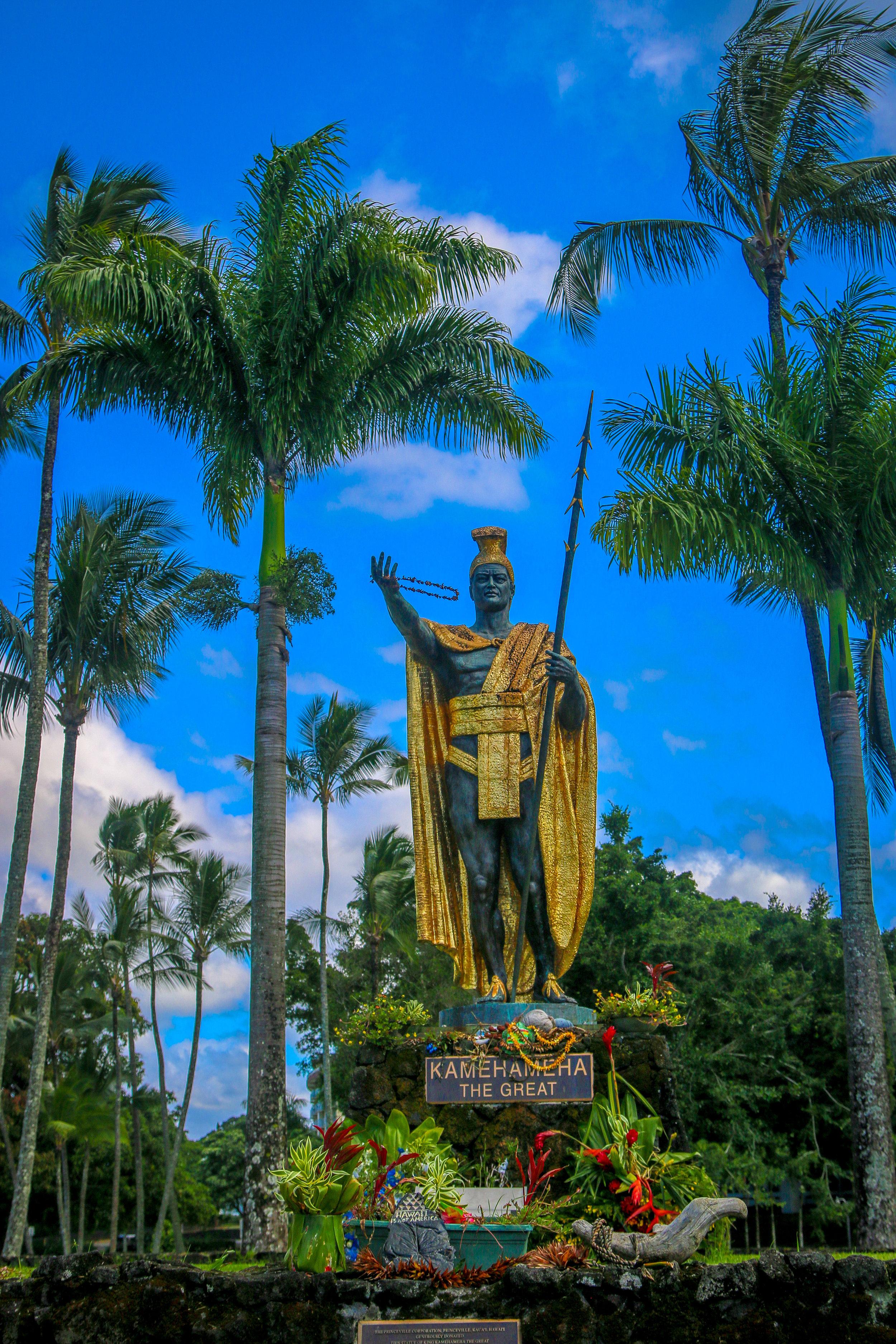 Hawaii HI Big Island Photos Photography Kamehameha Statue