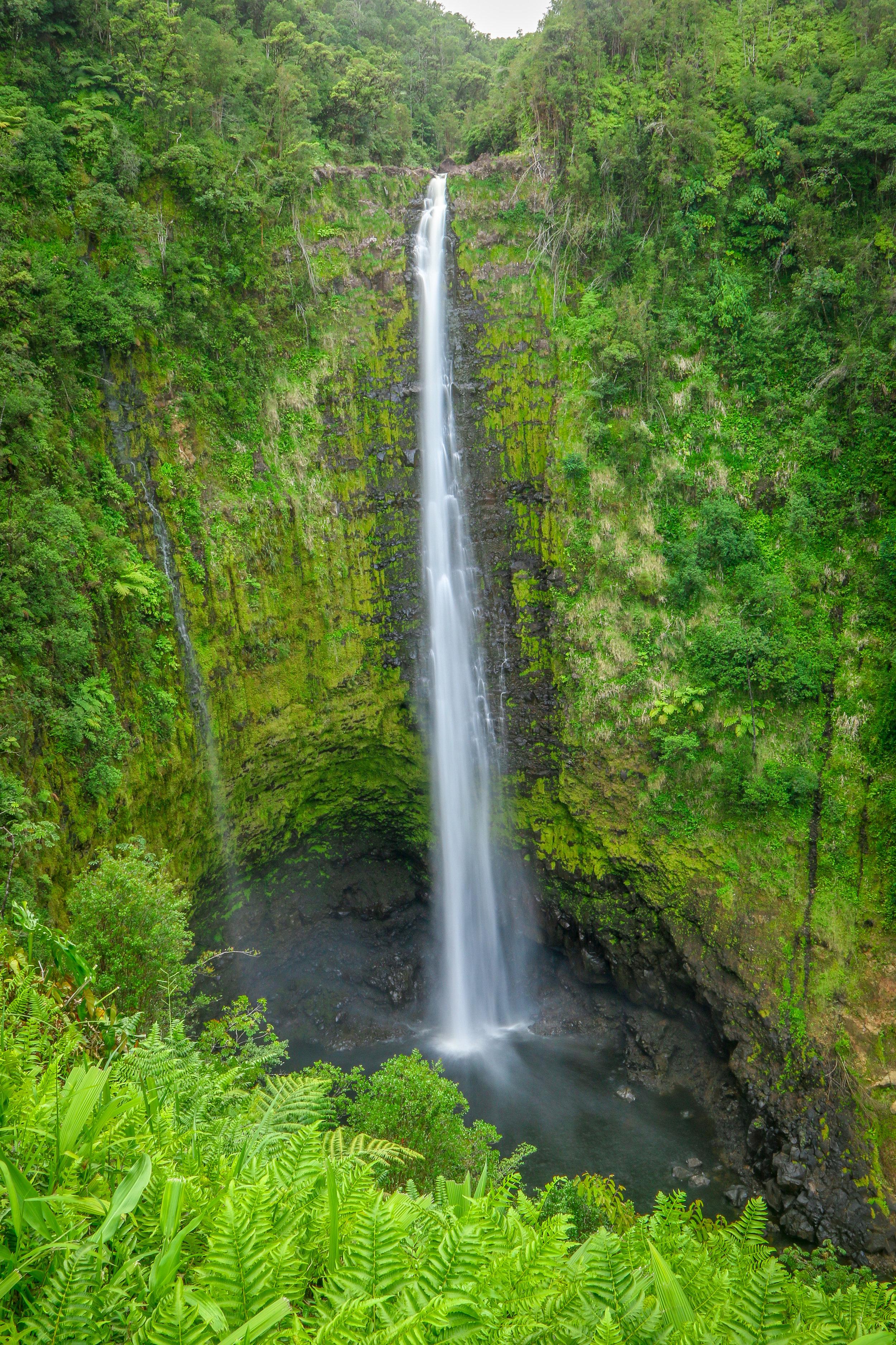 Hawaii HI Big Island Photos Photography Akaka Falls Waterfall