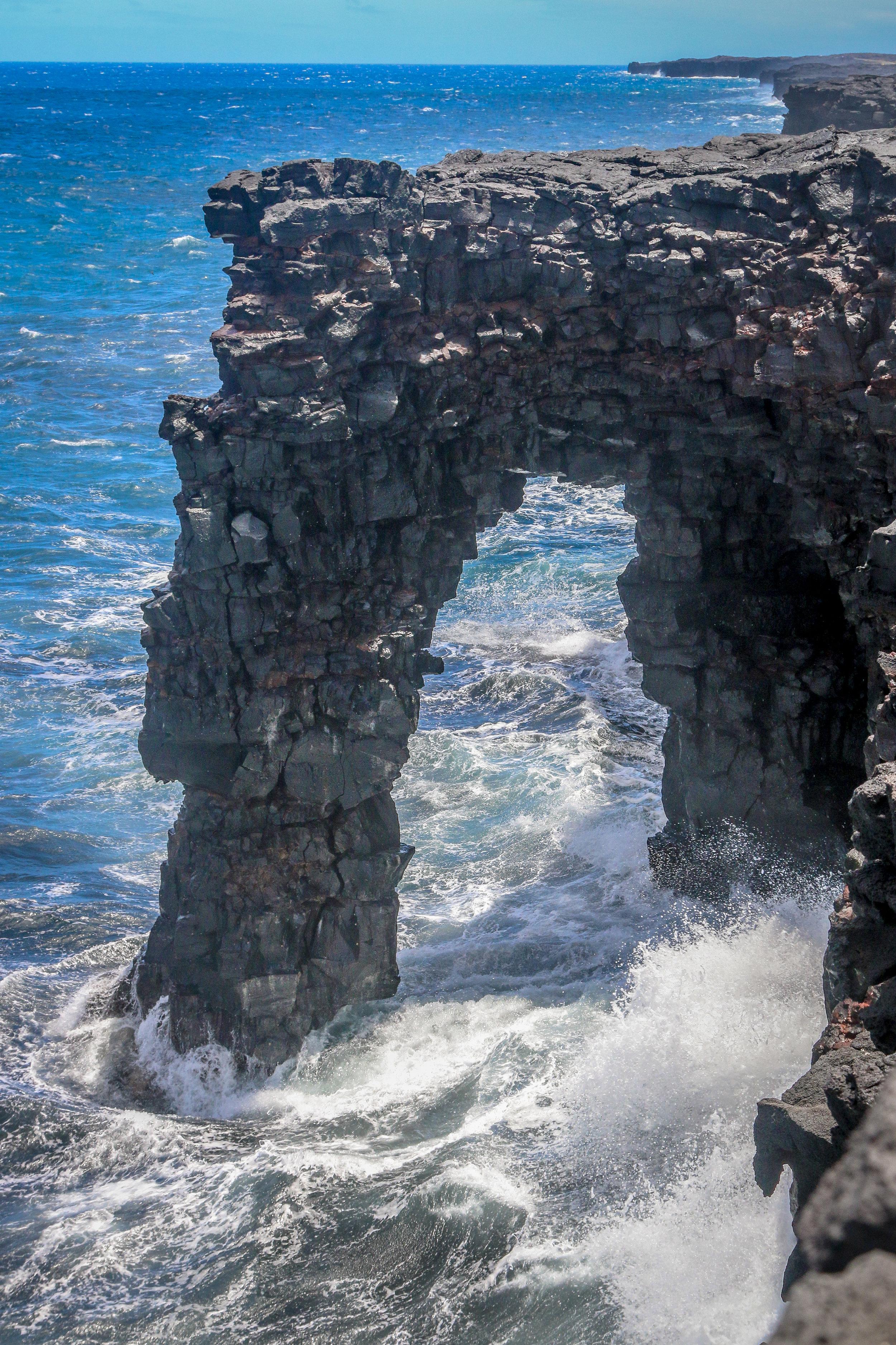 Hawaii HI Big Island Photos Photography sea arch