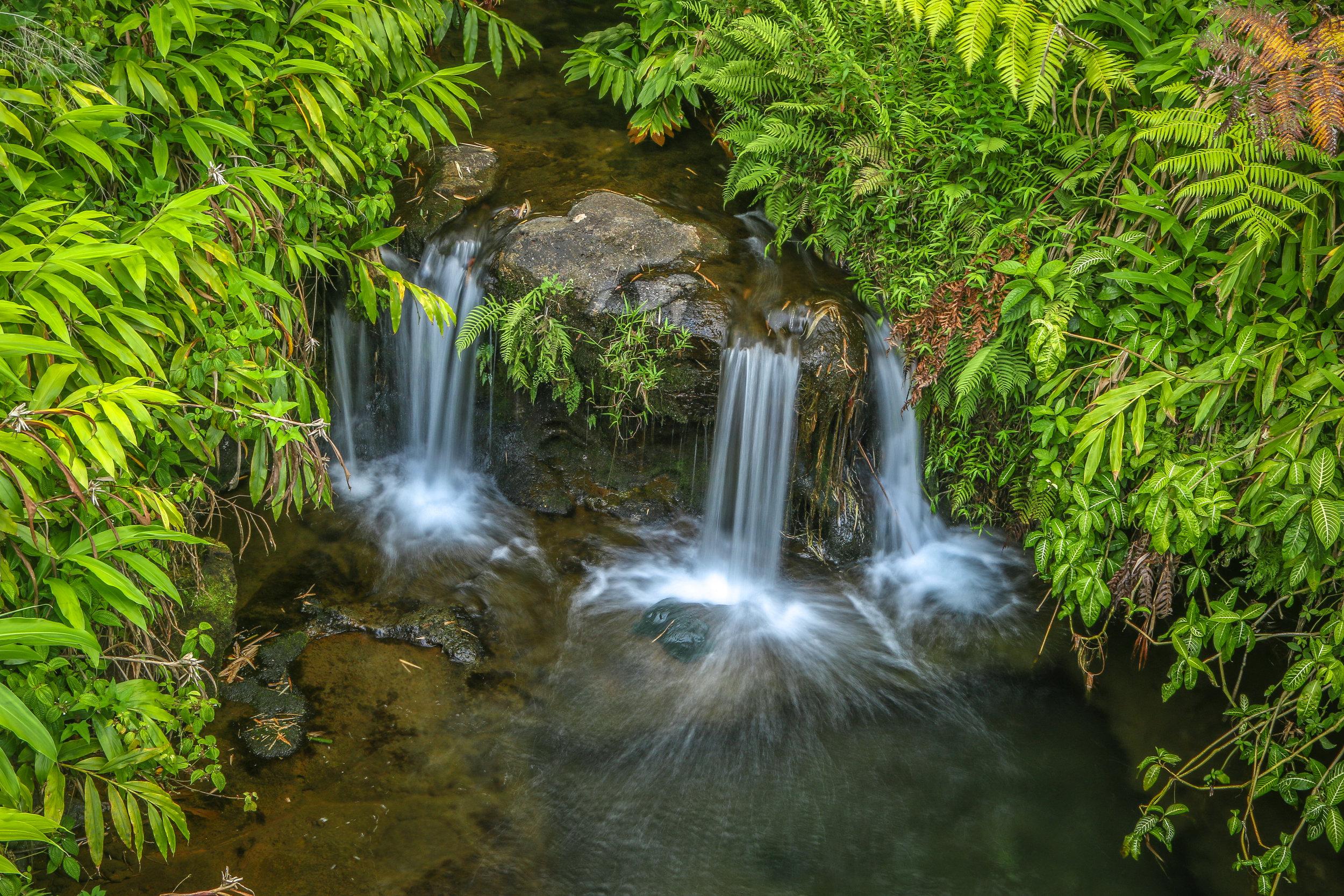 Hawaii HI Big Island Photos Photography waterfall