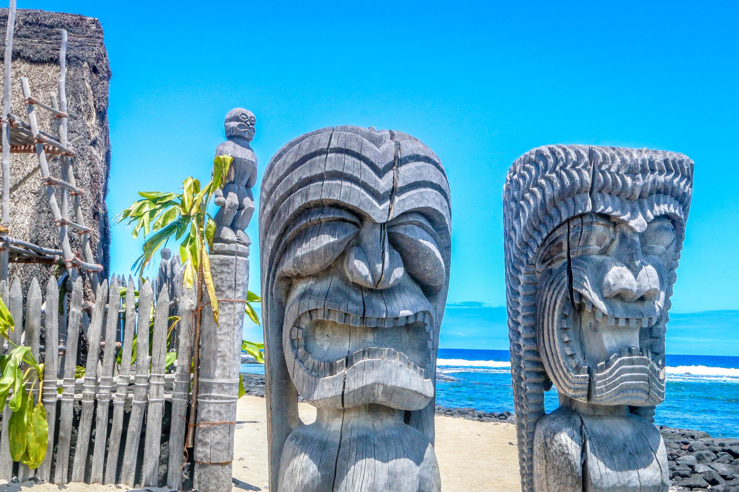 Hawaii HI Big Island Photos Photography tiki