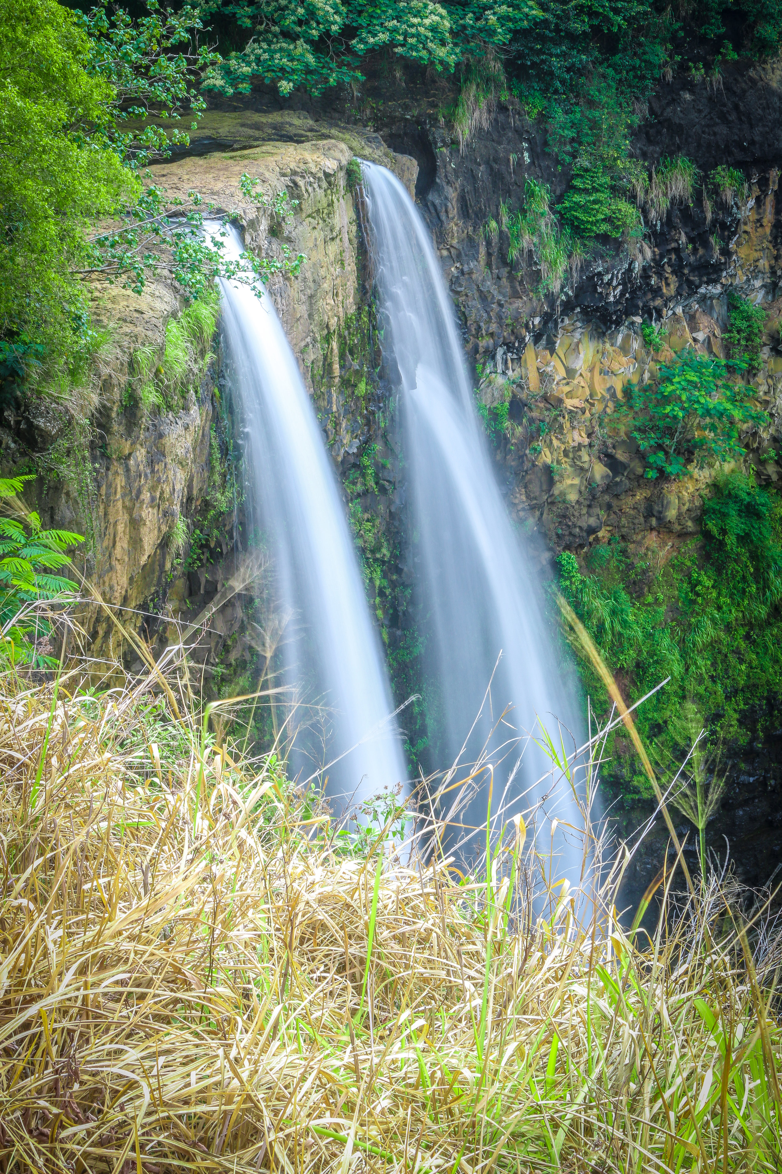 Kauai Hawaii HI photos photography waterfall falls