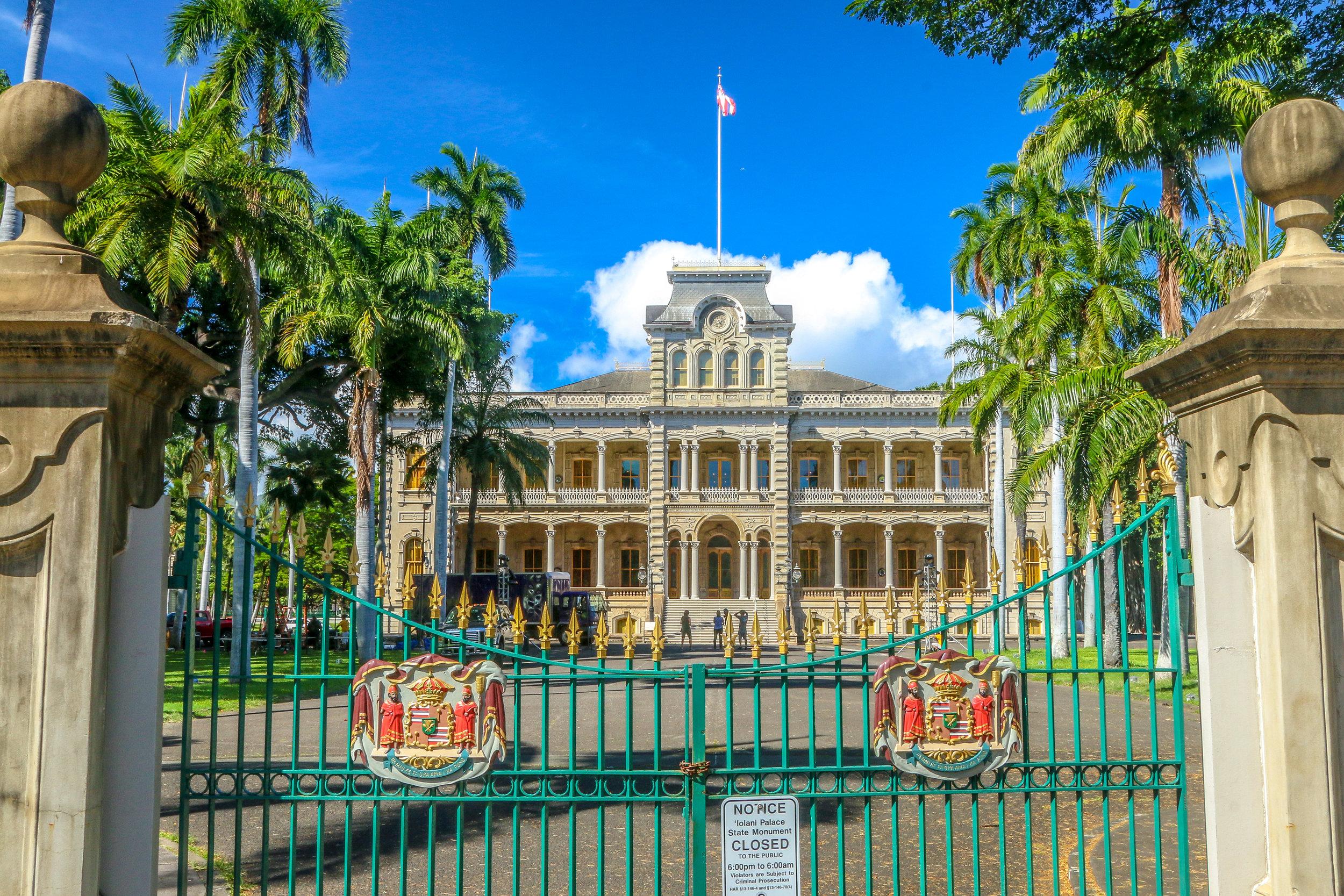 Oahu Hawaii HI photos photography Iolani Palace Honolulu