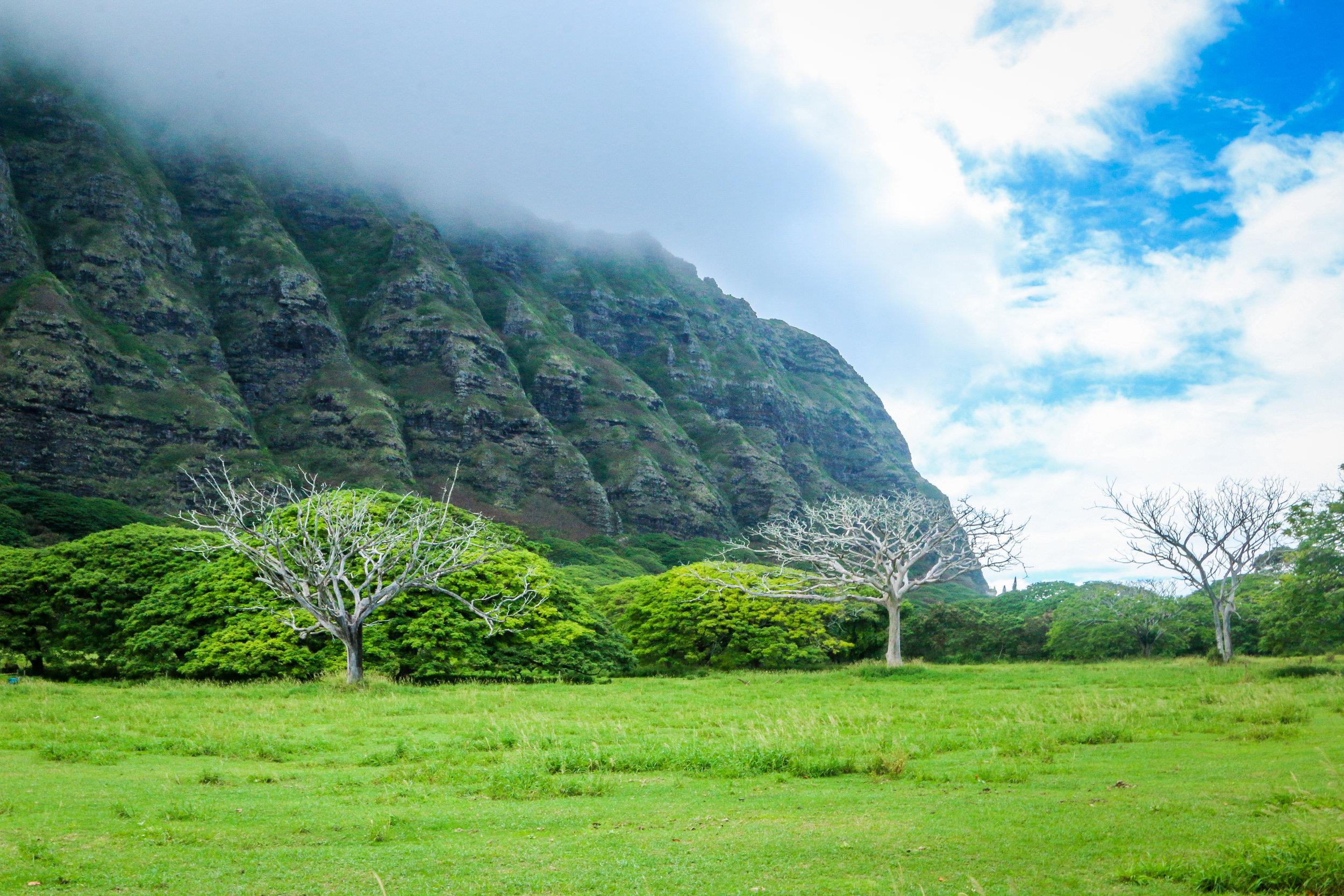Oahu Hawaii HI photos photography north shore mountains