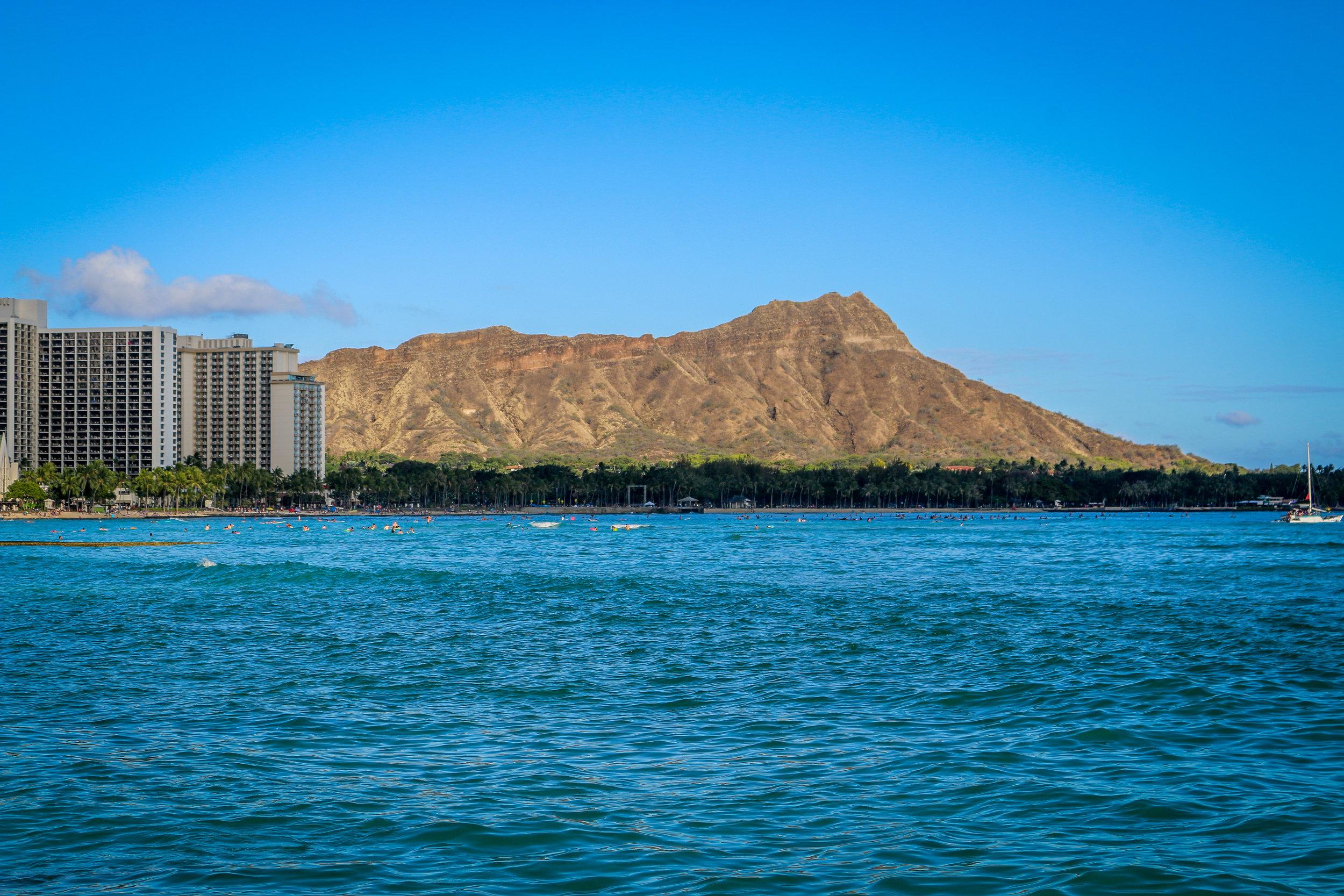 Oahu Hawaii HI photos photography diamond head