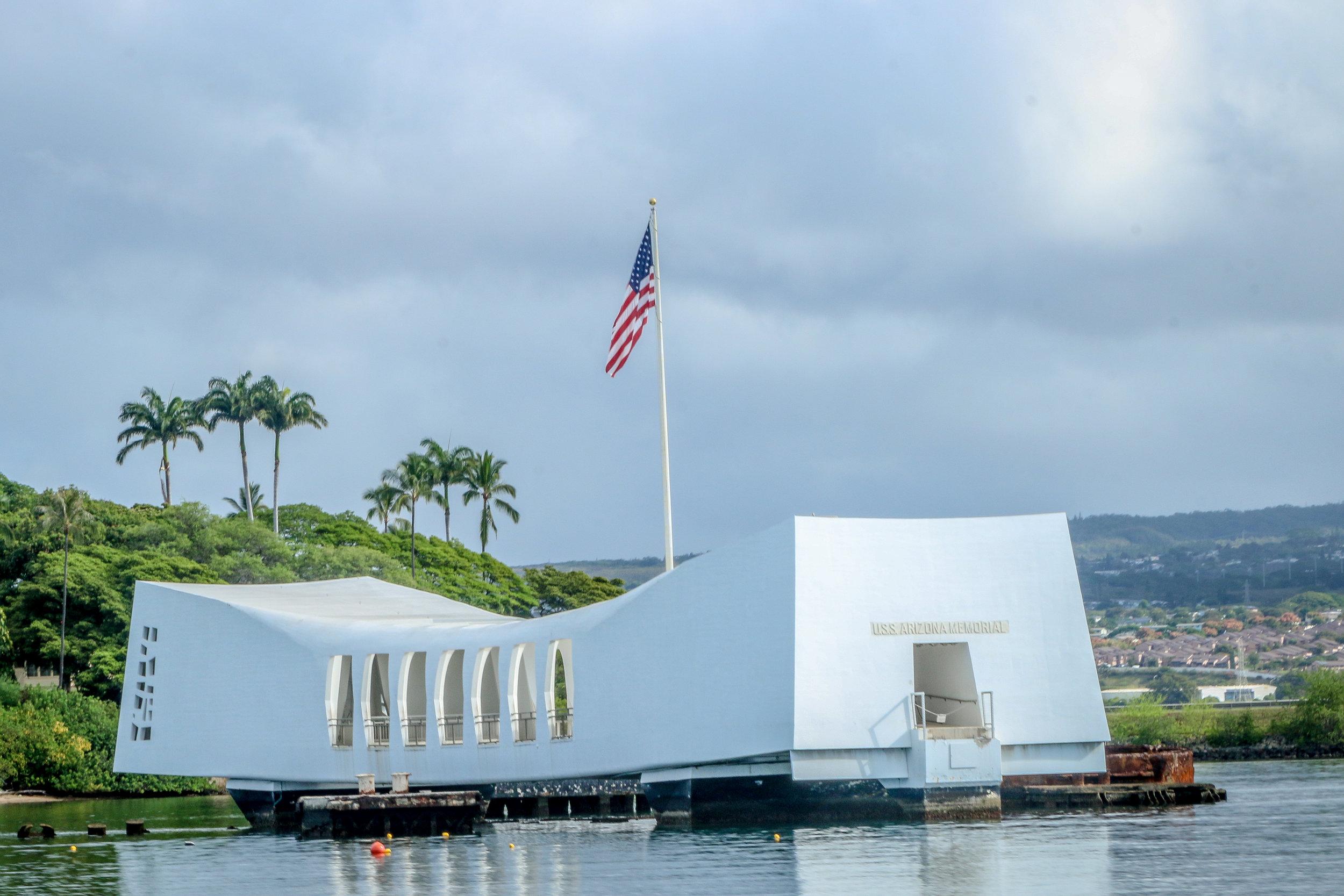 Oahu Hawaii HI photos photography Pearl Harbor USS Arizona Memorial