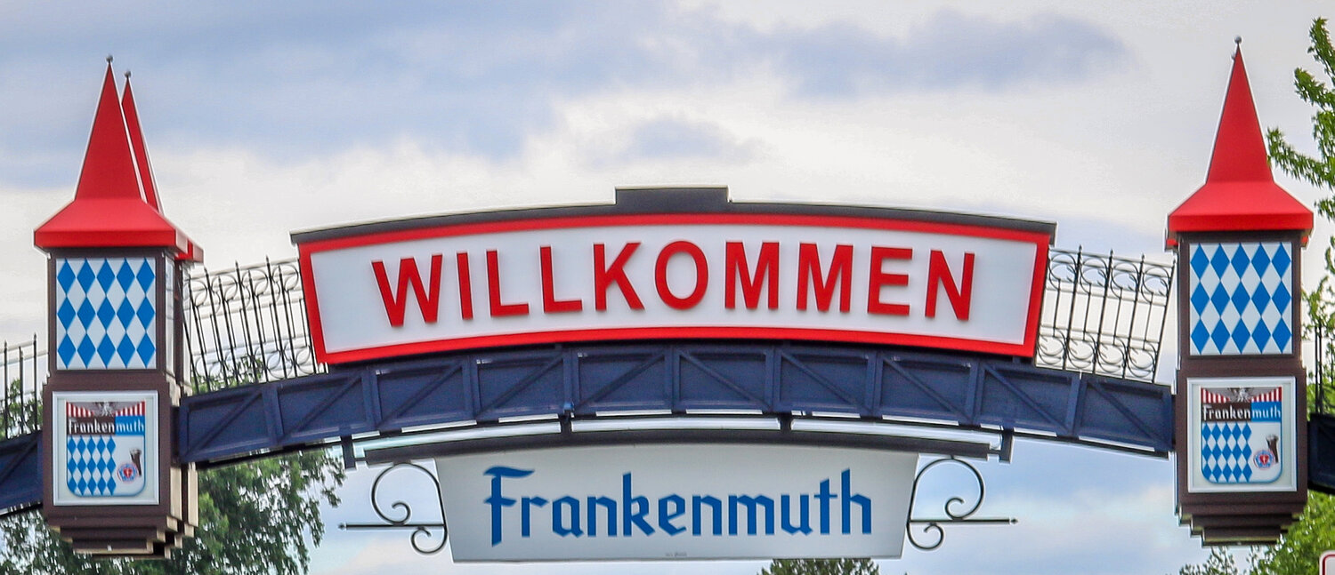 Frankenmuth Welcome Sighn