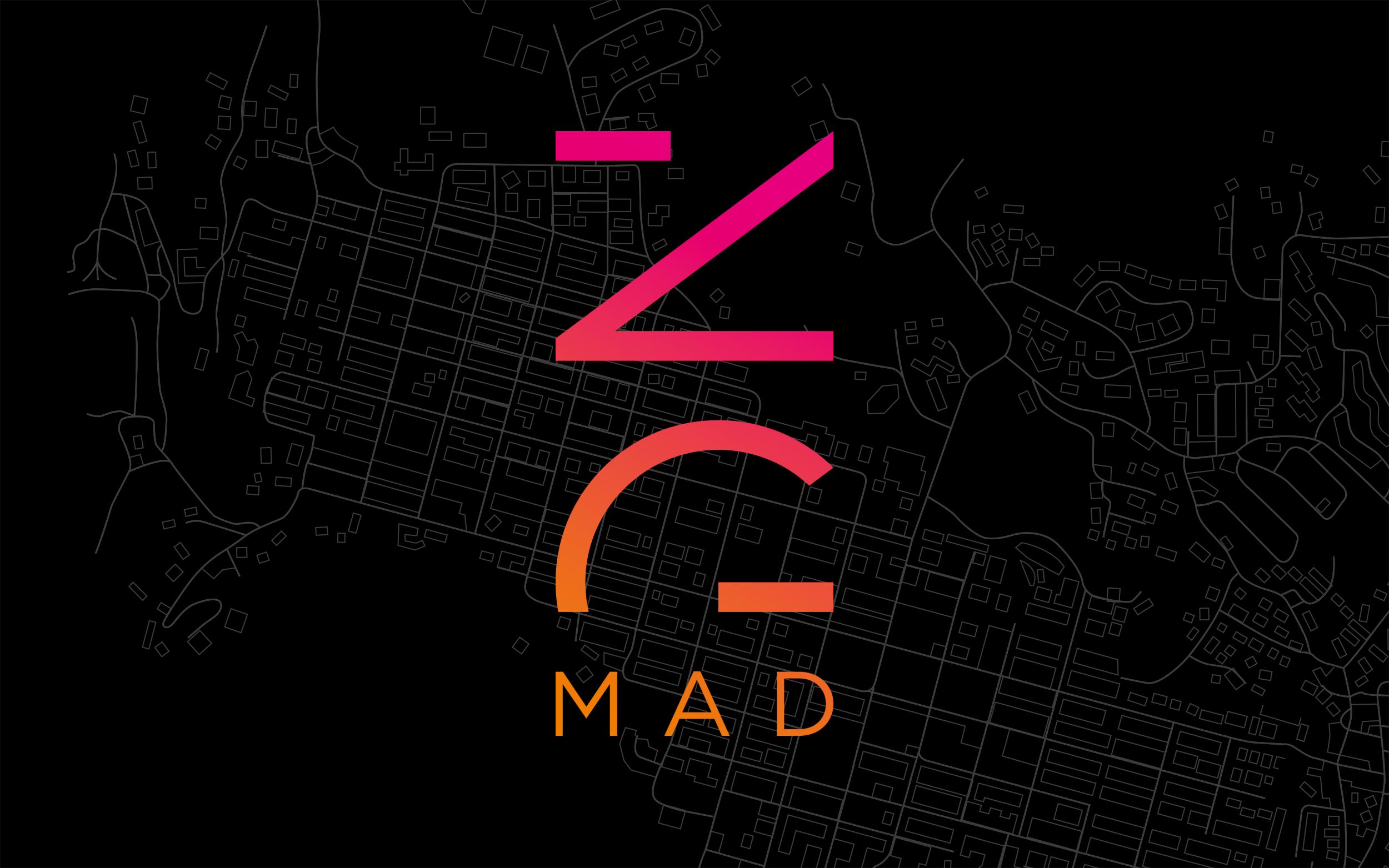 ZGMAD logo landing page