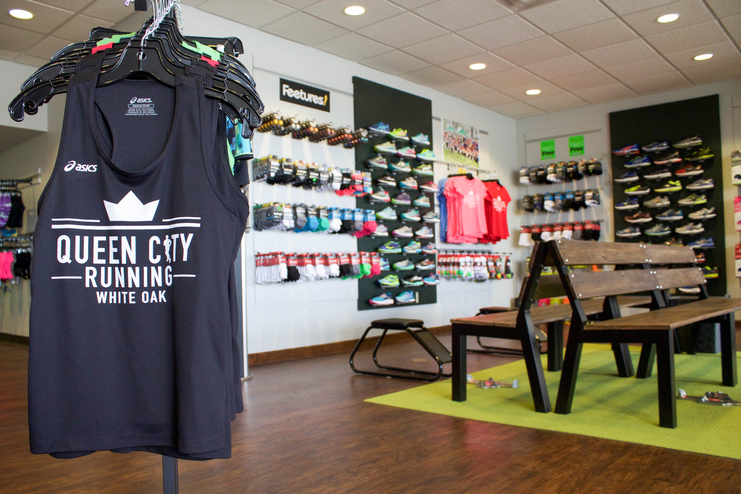 We have a large hand-curated selection of running and walking shoes, athletic apparel, equipment, and accessories.