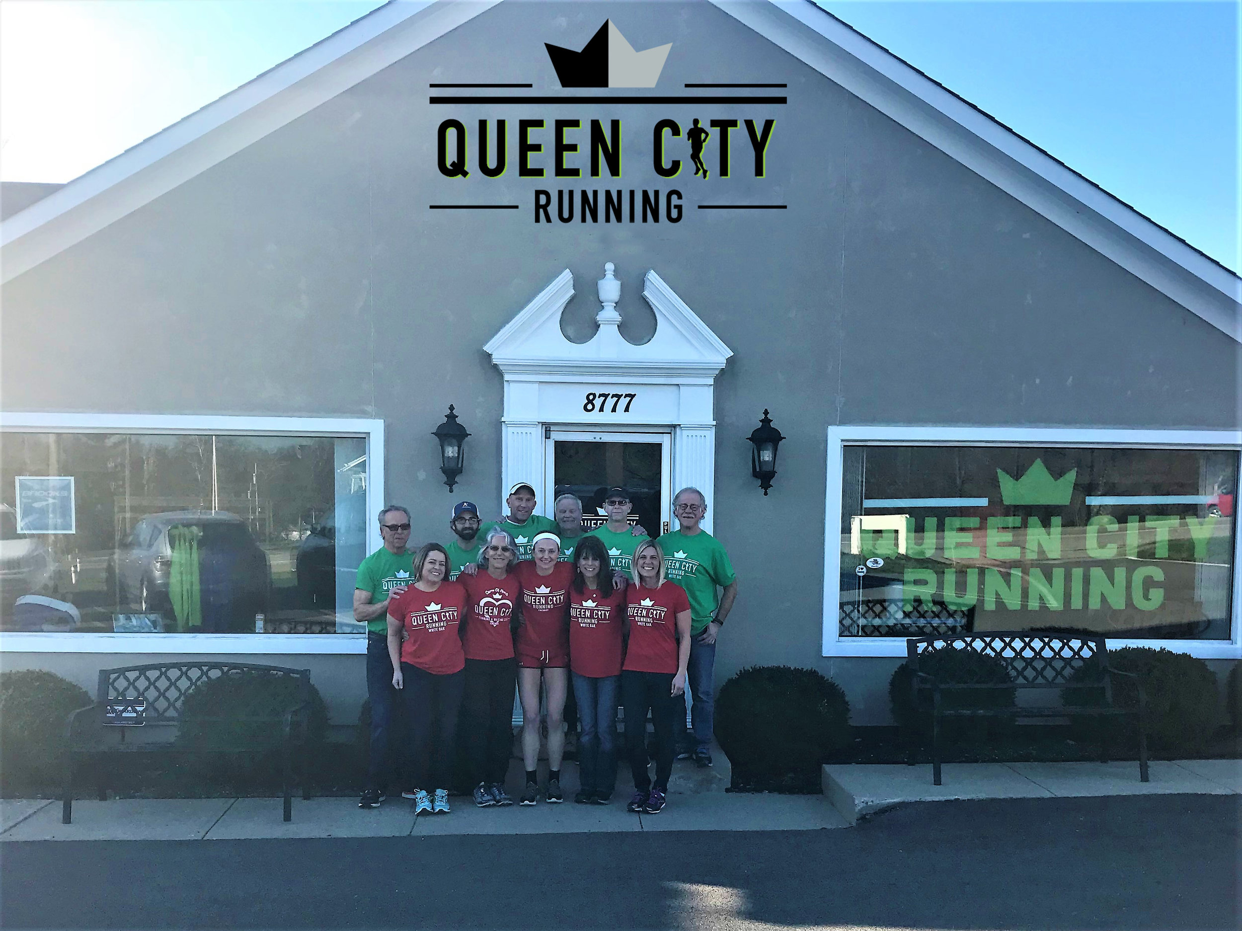 We meet you where ever you're at on your personal running path. We're here to support you.   Queen City North is located at:    8777 Cincinnati-Dayton Road West Chester, OH 45069 Phone: 513-942-5005 Email:  hello@queencityrunning.com