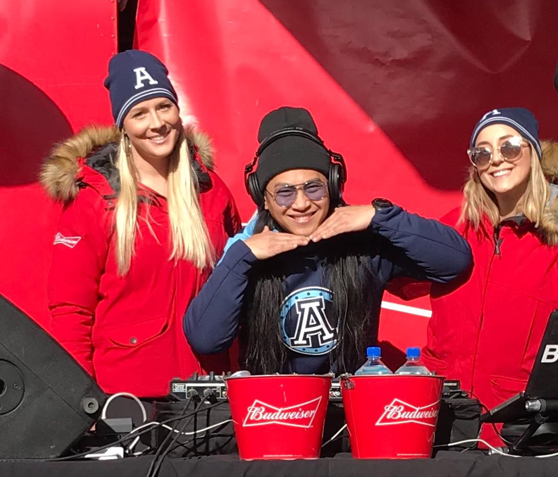 Toronto Argonauts & Budweiser