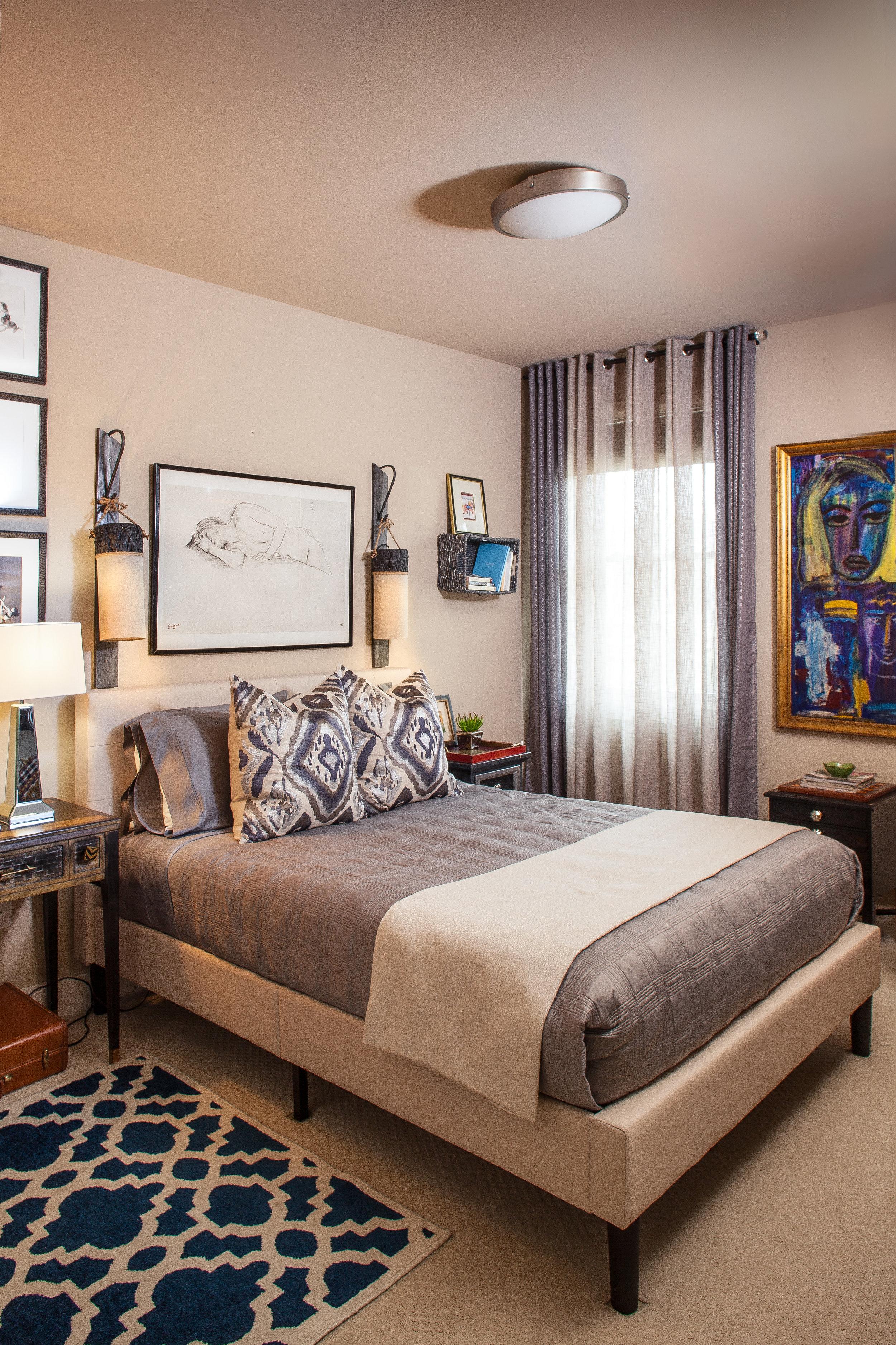 Custom guest bedroom / 2017