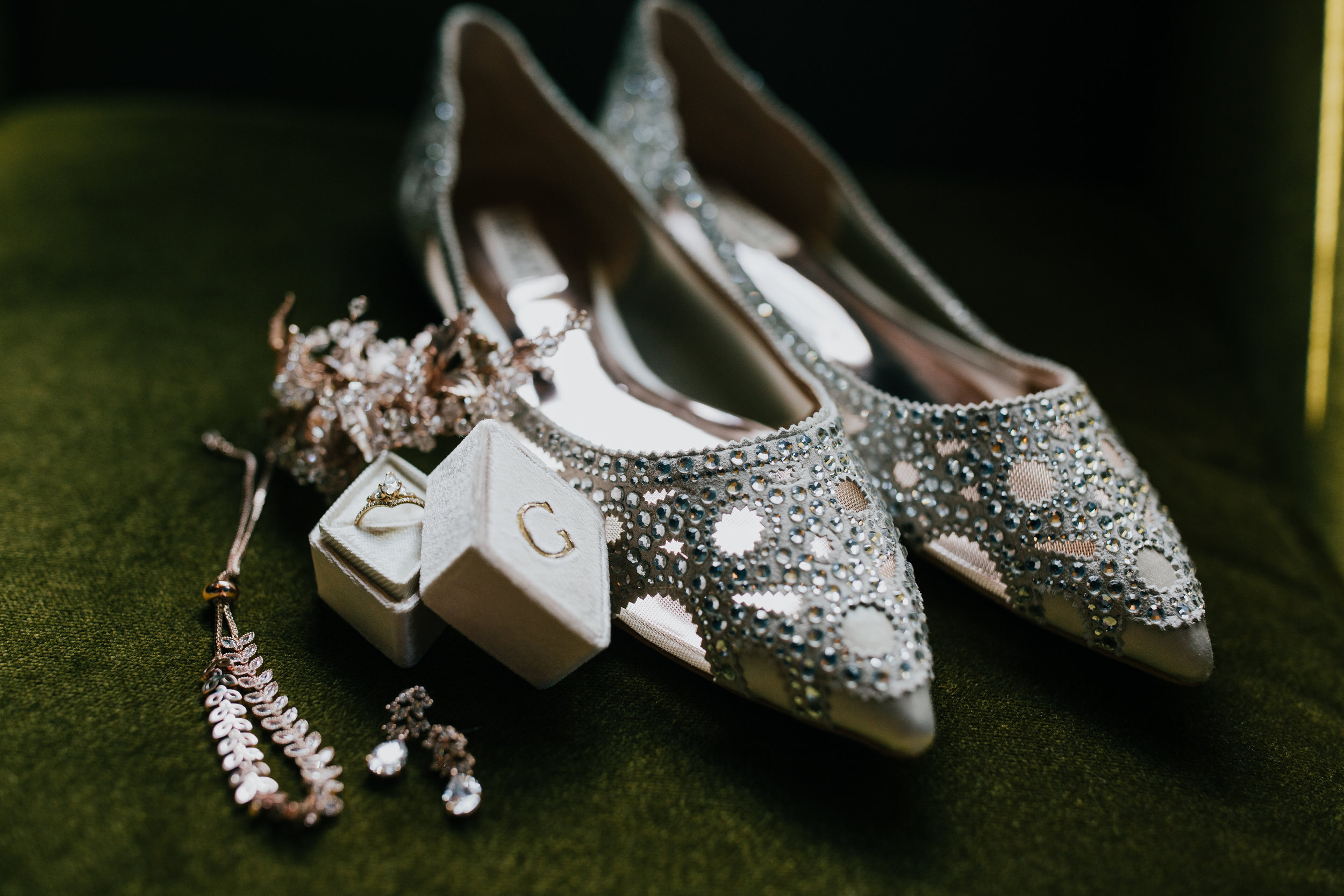 Rustic Bloom Photography | Wedding Shoe Inspiration | Badgley Mischka