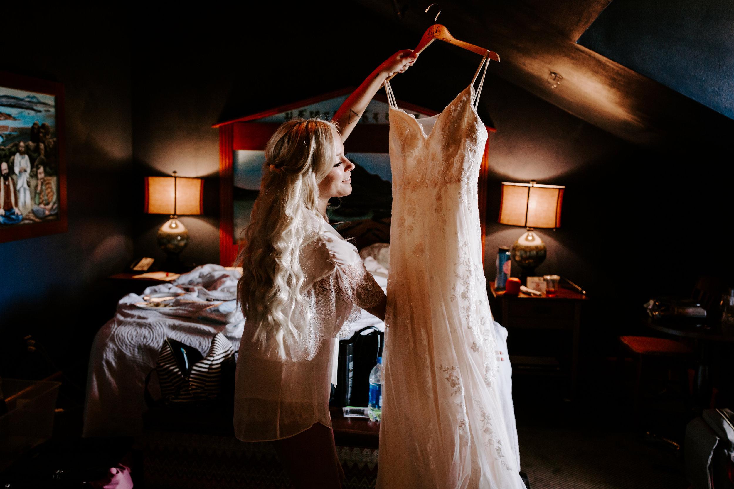 Rustic Bloom Photography | Wedding Dress Inspiration | McMenamins Grand Lodge