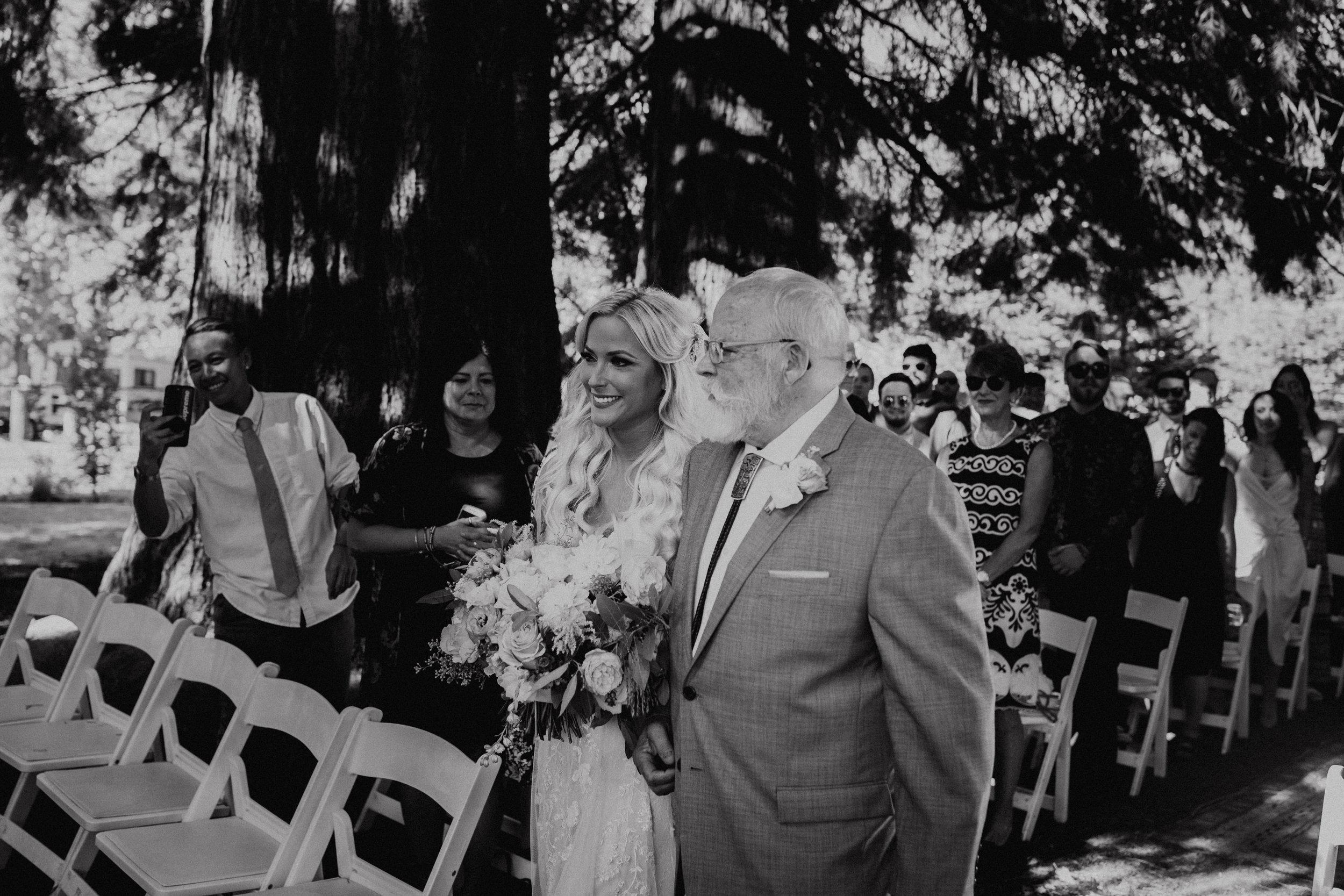 Rustic Bloom Photography |  McMenamins Grand Lodge | Ceremony Inspiration
