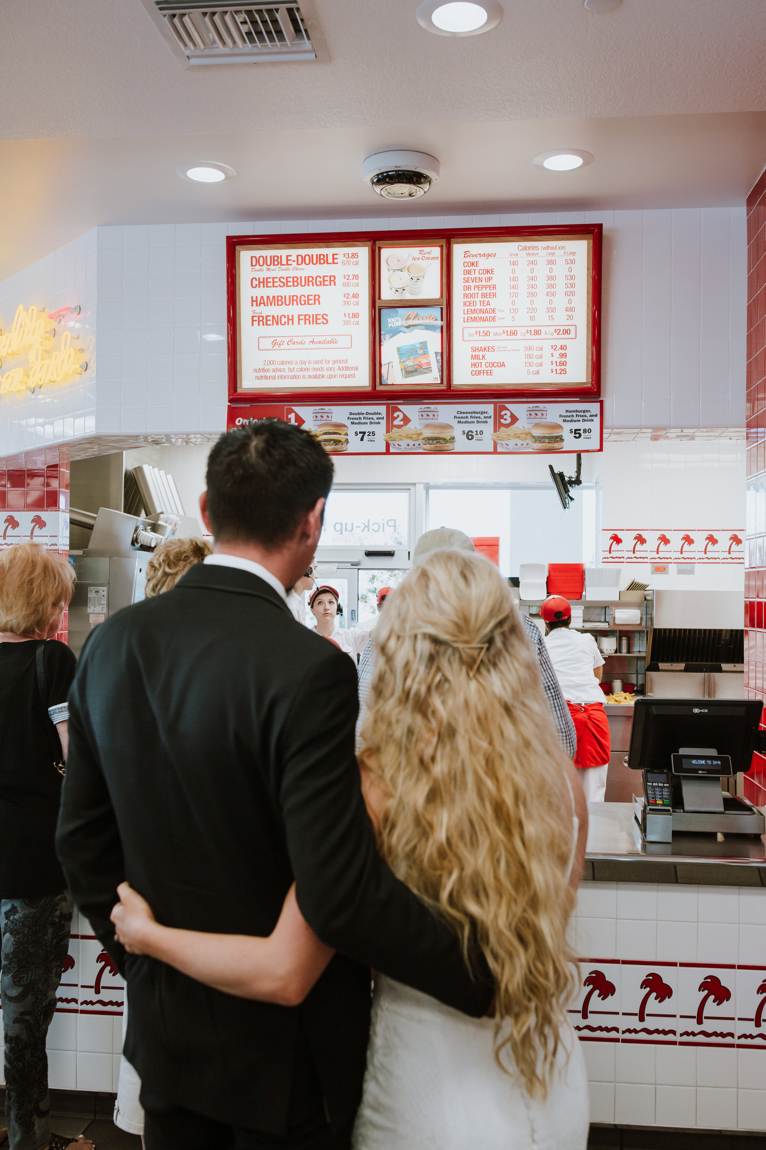 Rustic Bloom Photography | Fun Elopement Inspiration | In-N-Out Burger