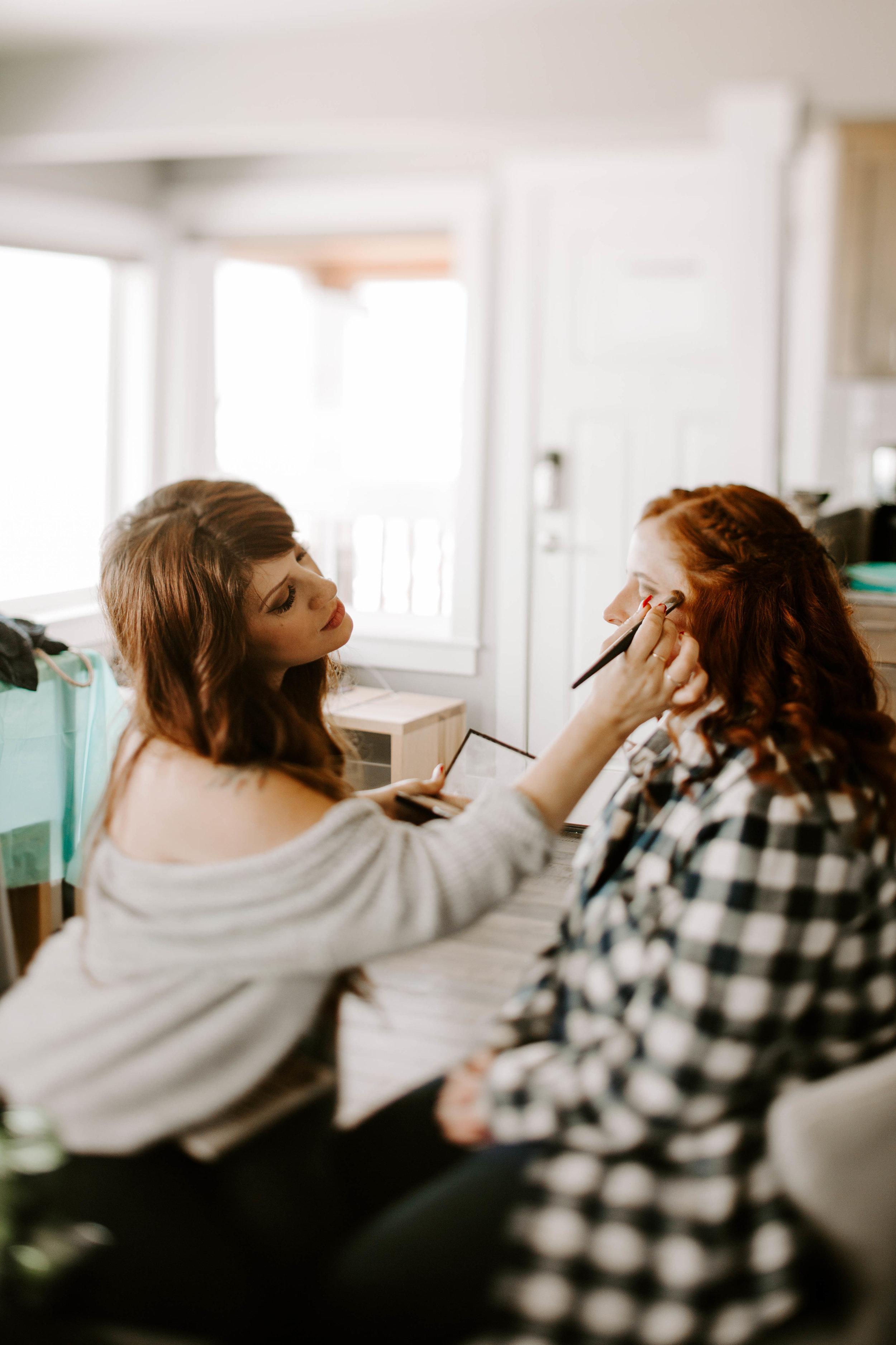 Oregon Coast Makeup Artist | Bella Dame | Sarah Bradshaw