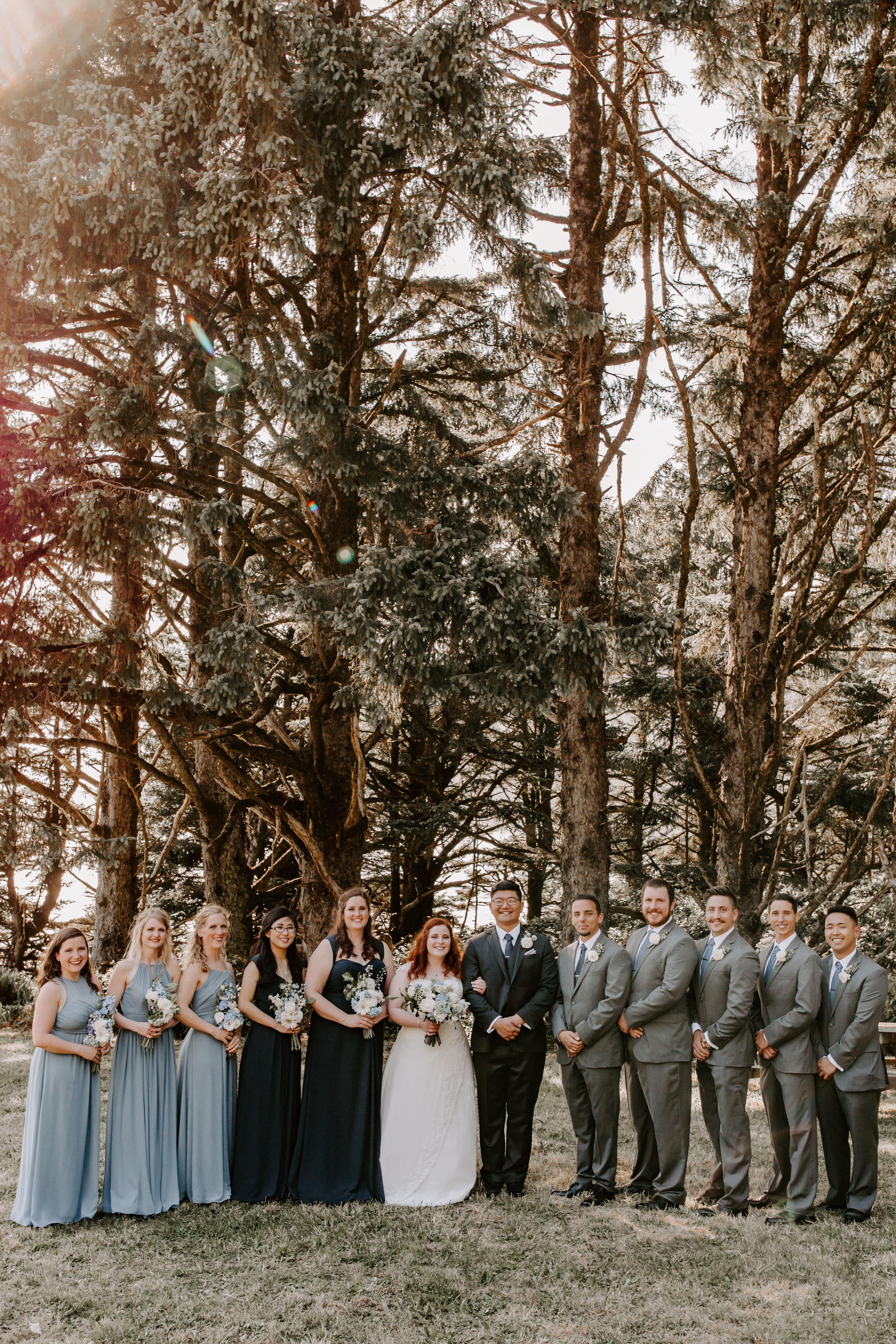 Oregon Wedding Photographer | Woodland Wedding Inspiration | Rustic Bloom Photography