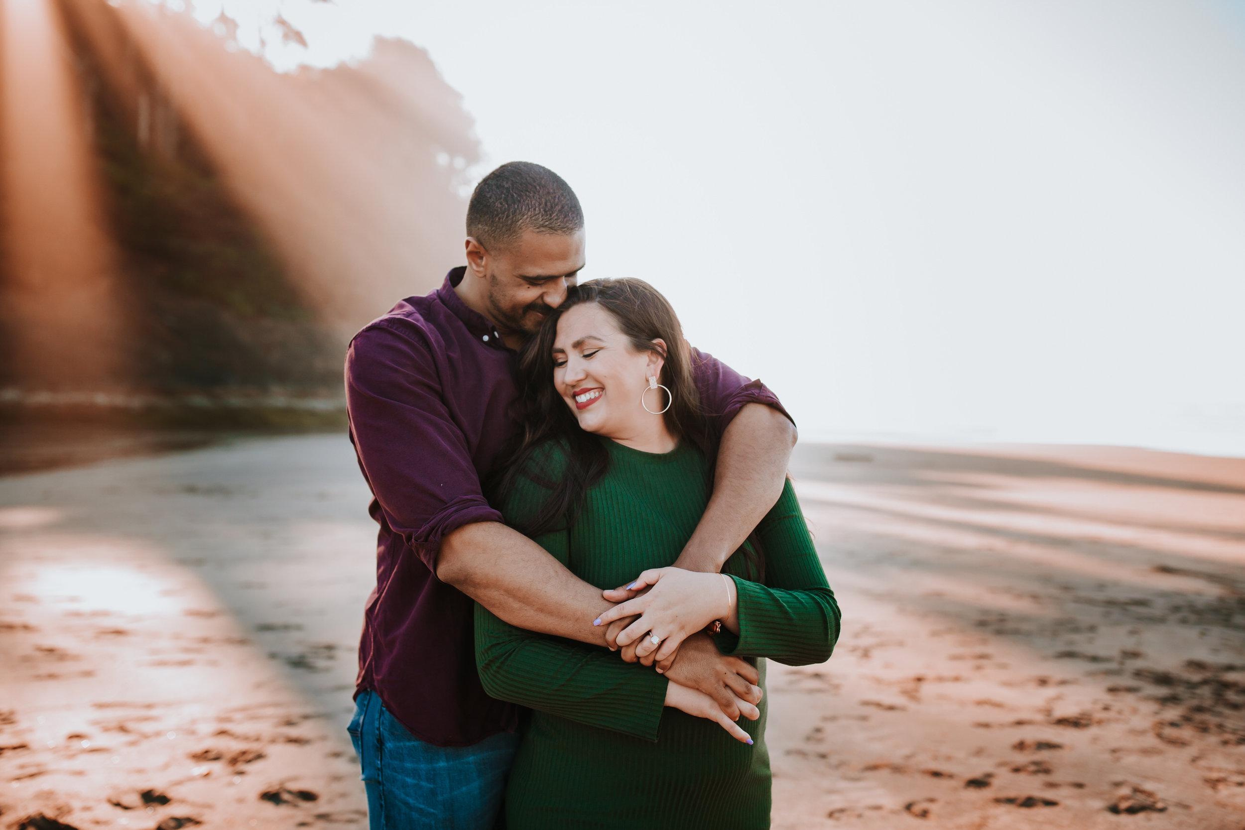 Rustic Bloom Photography // Oregon Coast Engagement Photographer